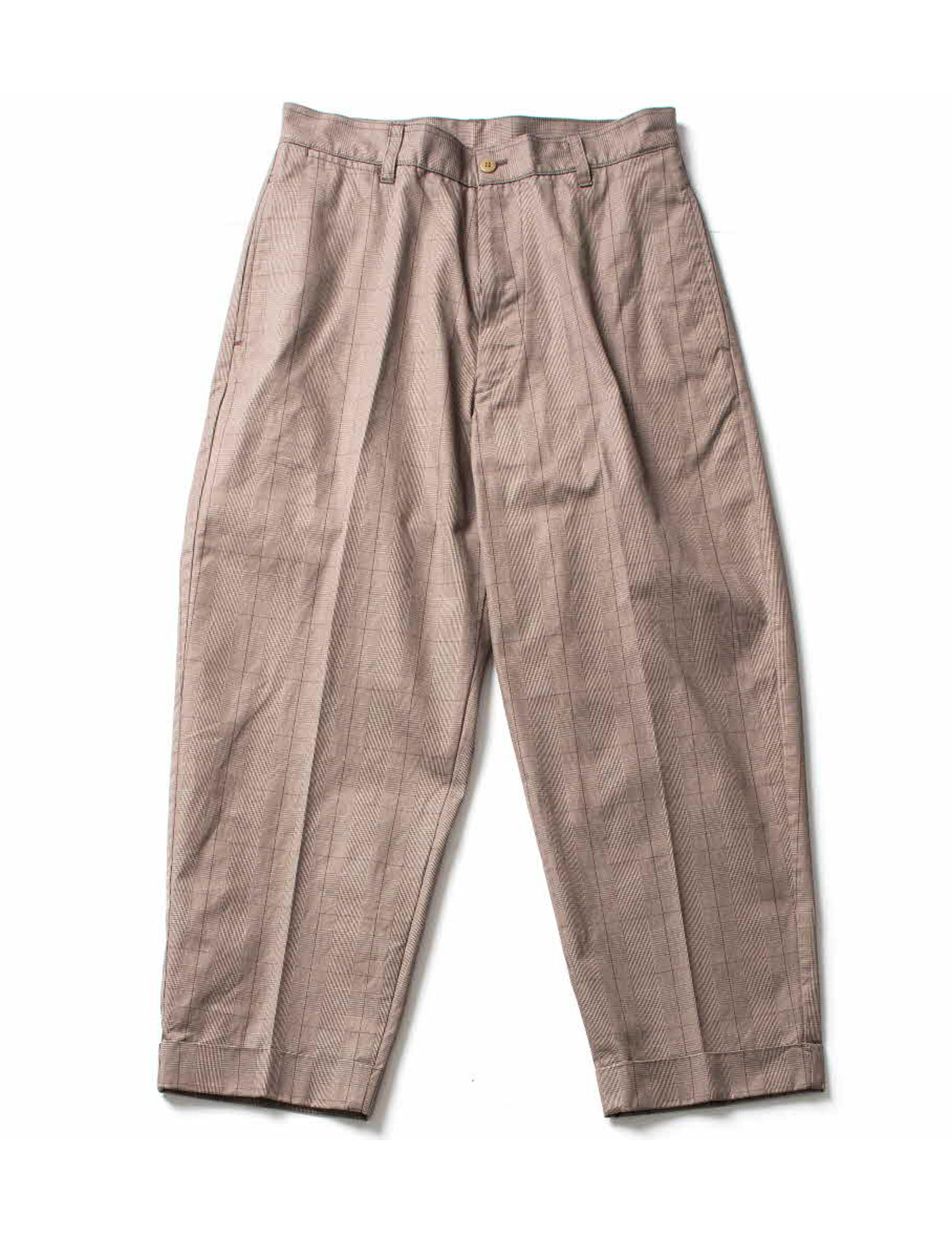 GRENCHECK HILTS PANTS_BROWN