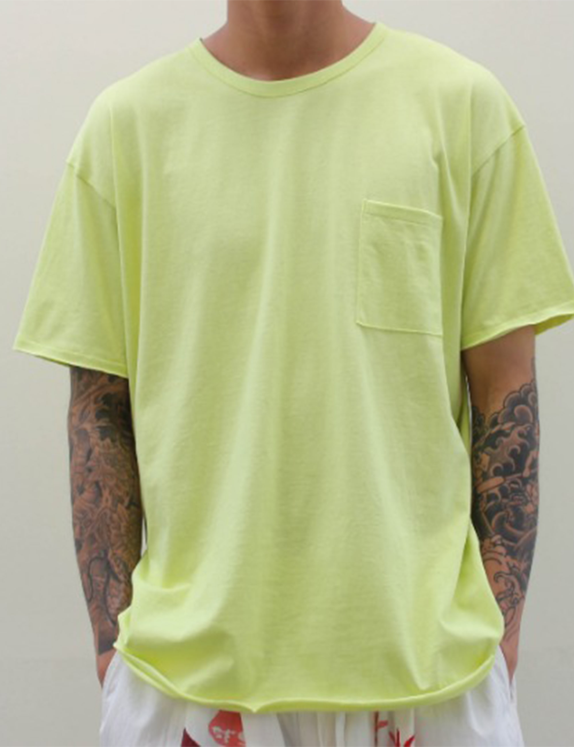 BASIC SEXY SS T-SHIRT_NEON