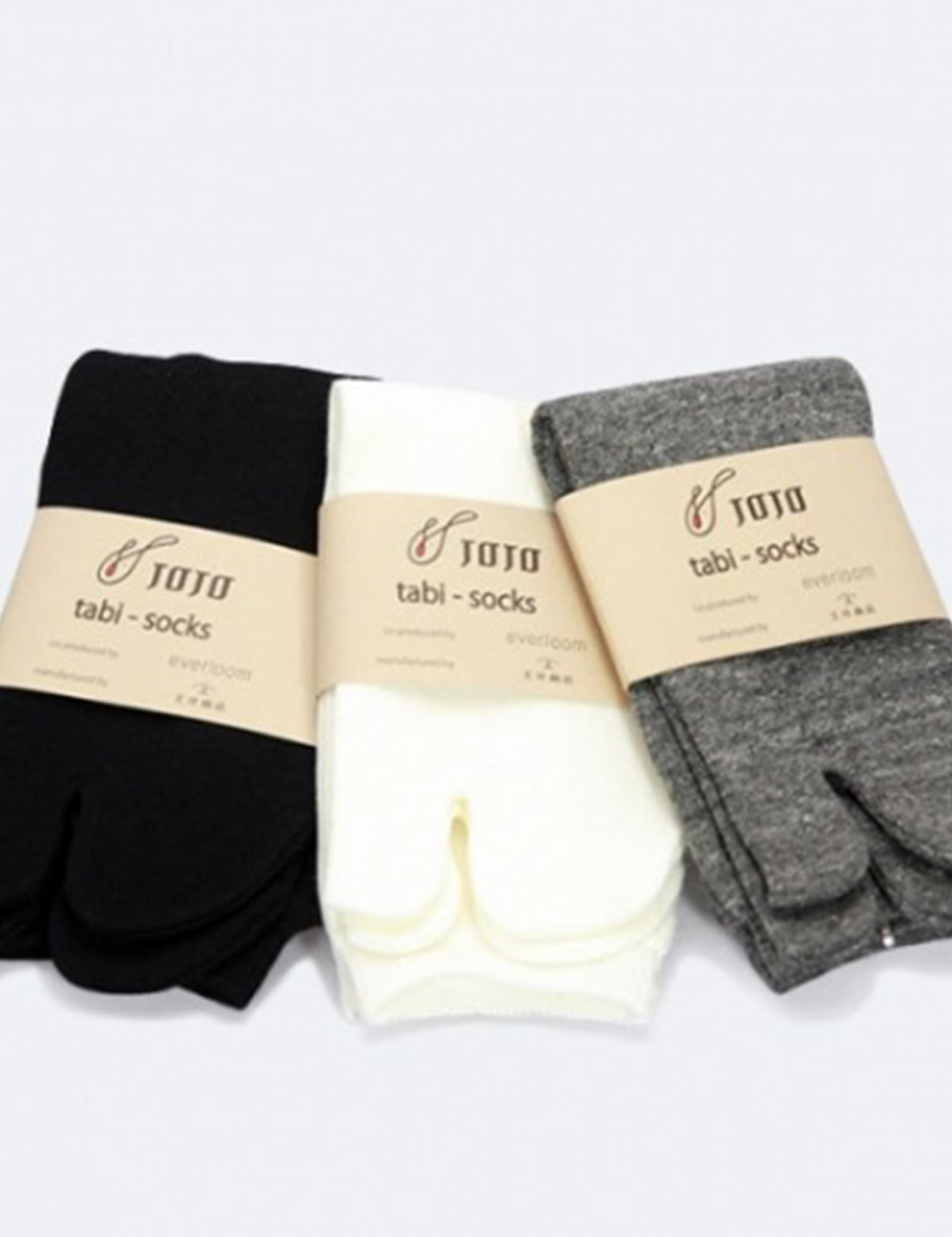 TABI SOCKS_WHITE