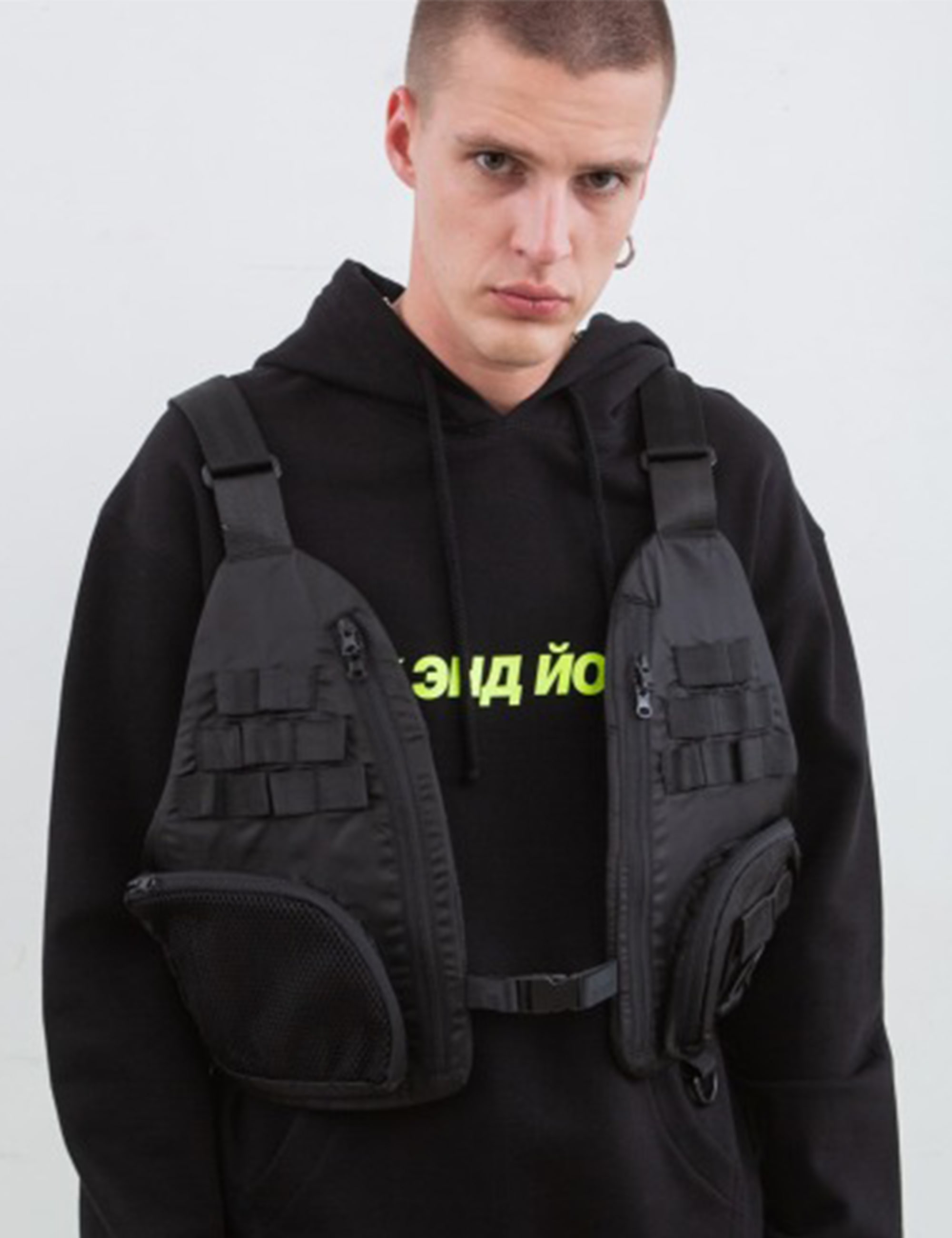 TACTICAL VEST BAG_BLACK