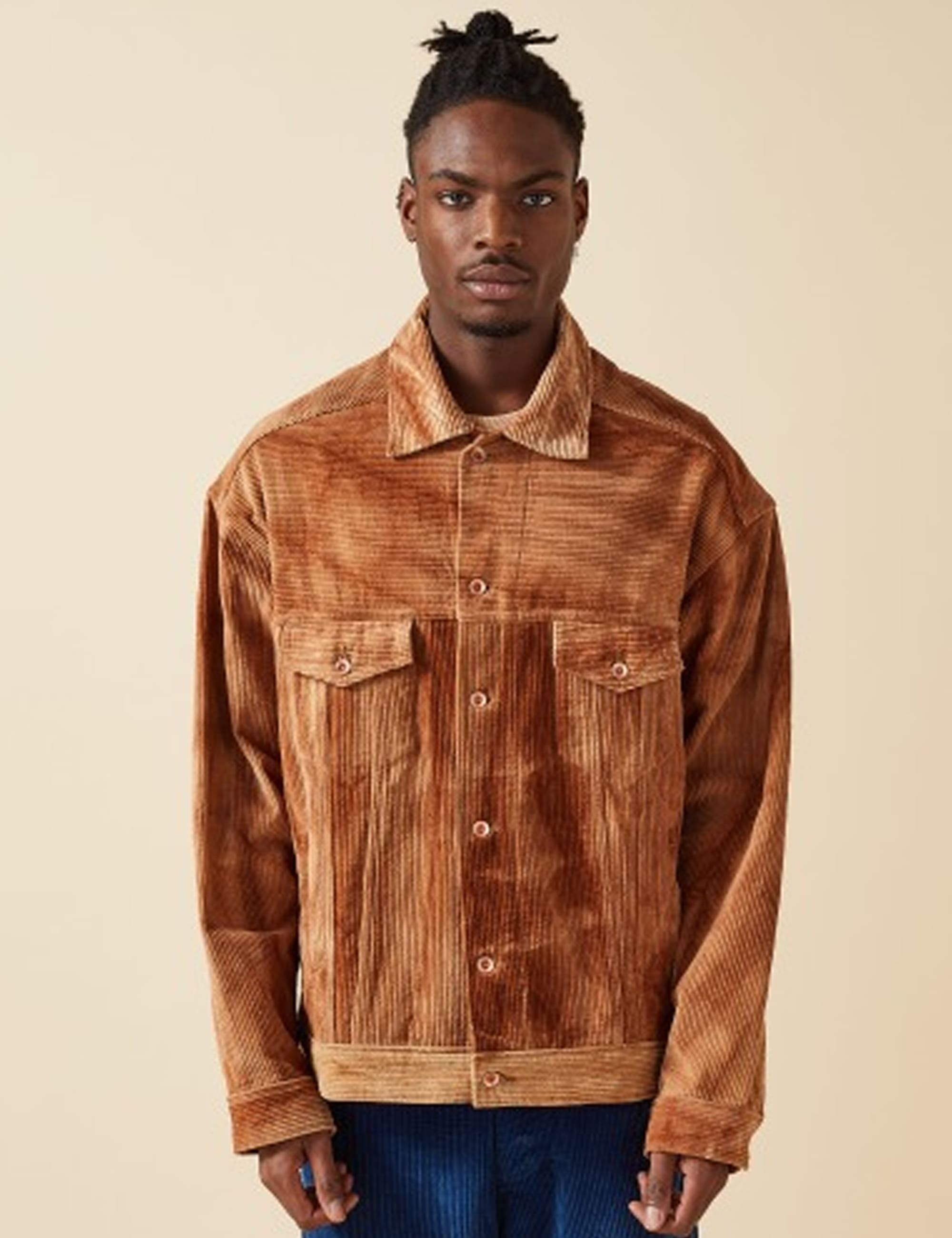 MONDAY JACKET_BARK RIPPLE CORDUROY