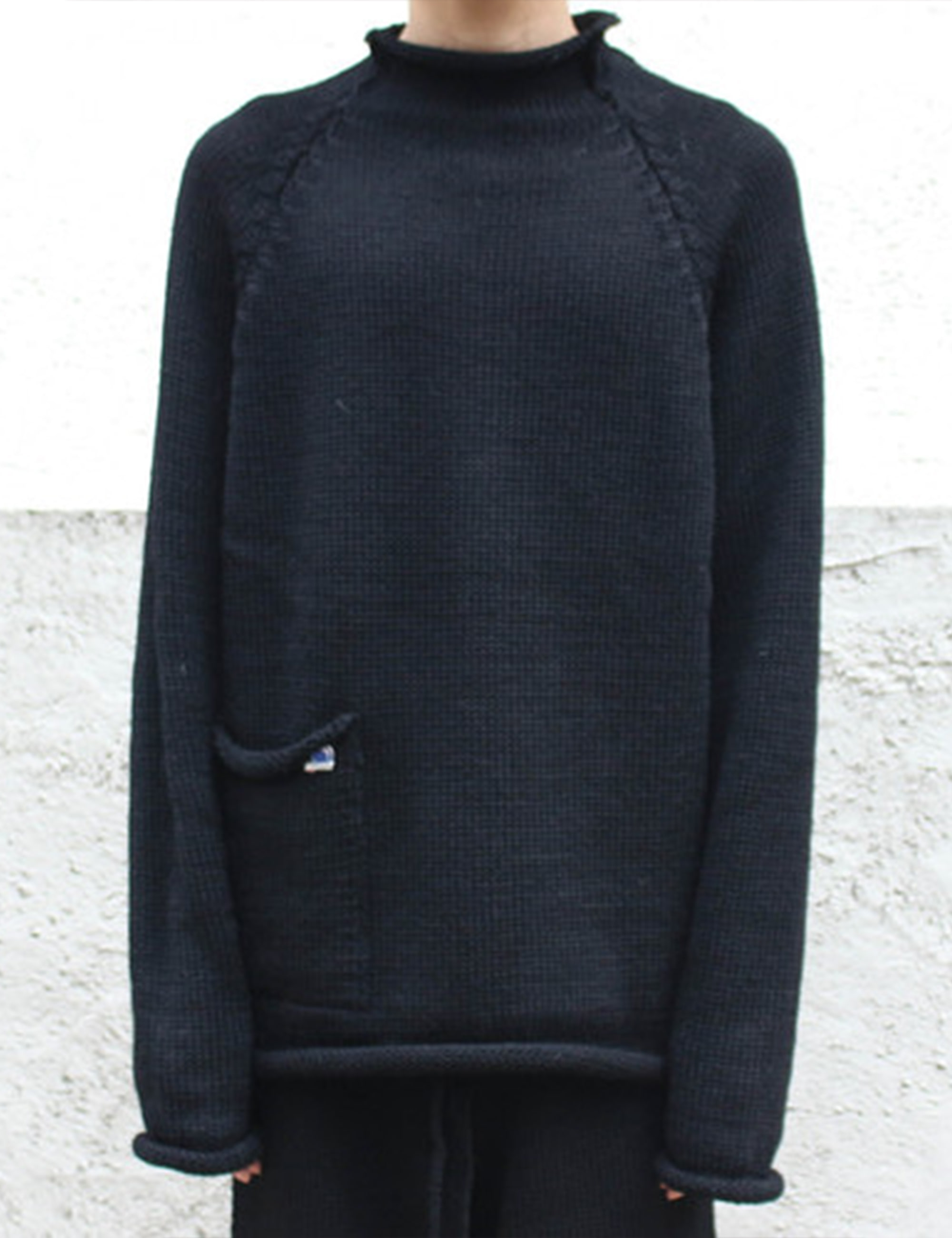 [EXCLUSIVE] KNIT TOP_BLACK