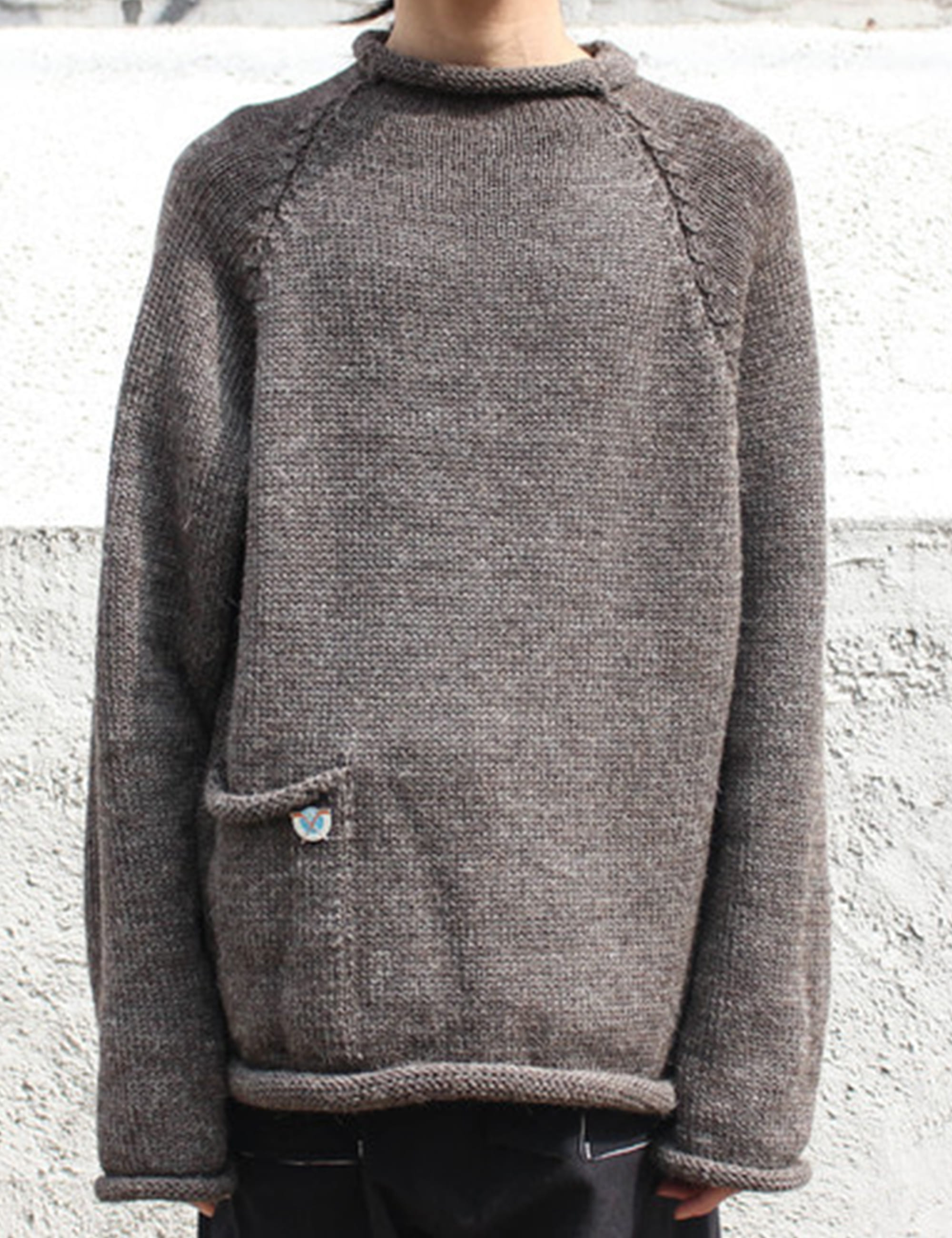 [EXCLUSIVE] KNIT TOP_CHARCOAL