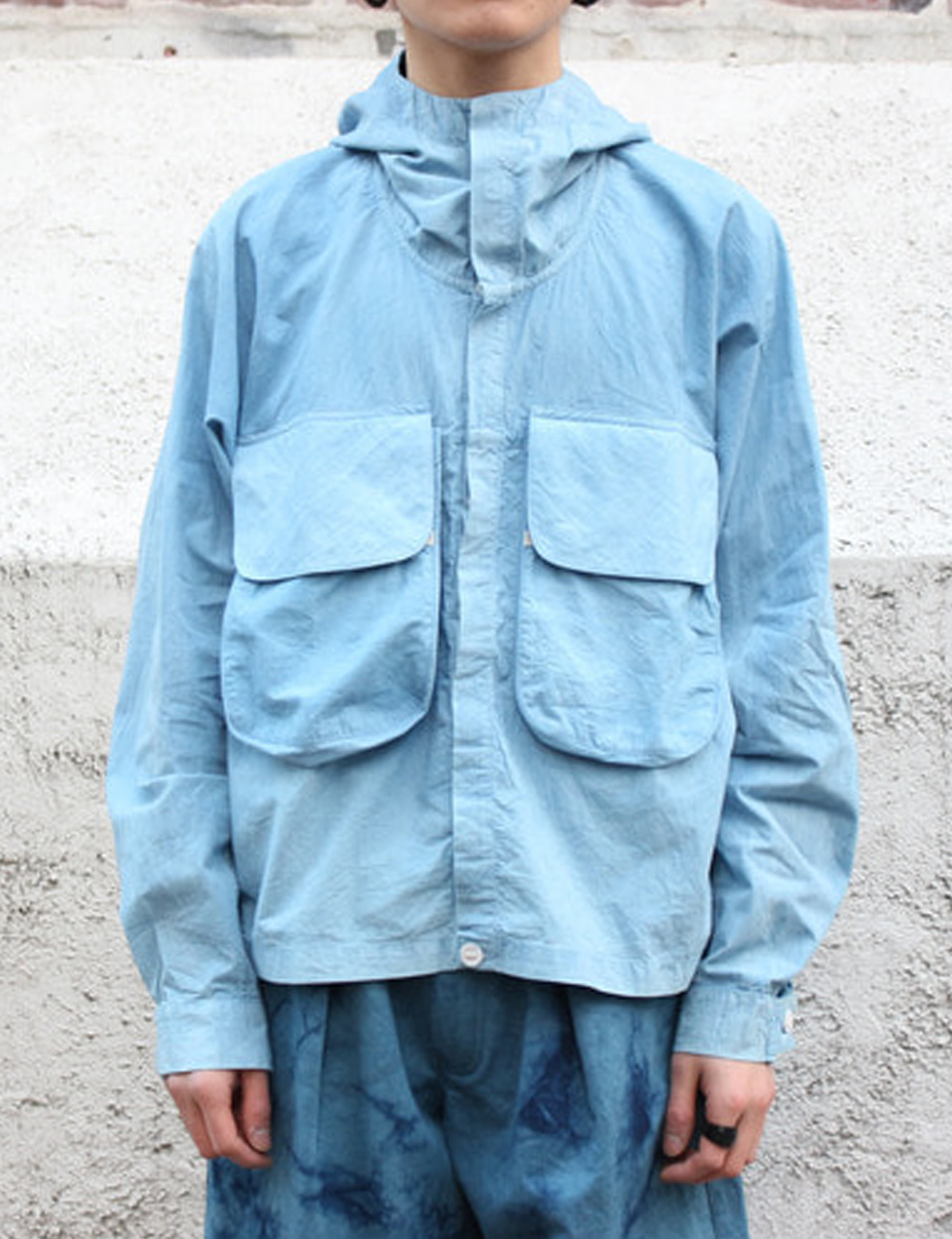 FORAGER JACKET_NATURAL INDIGO
