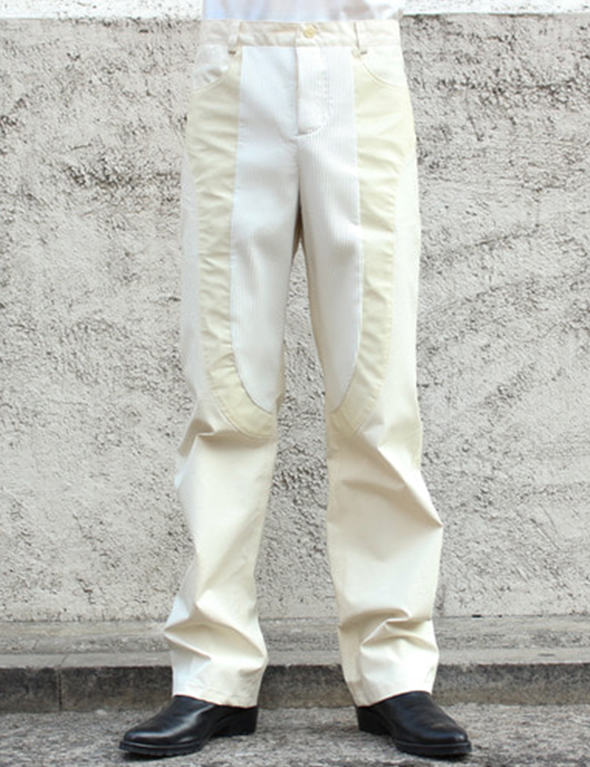 PANTS_WHITE/REFLECTIVE