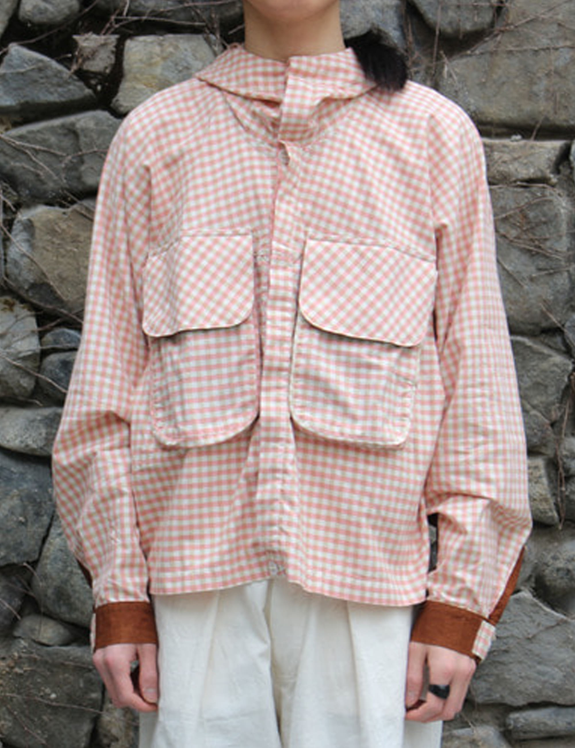 FORAGER JACKET_APPLE JAM GINGHAM