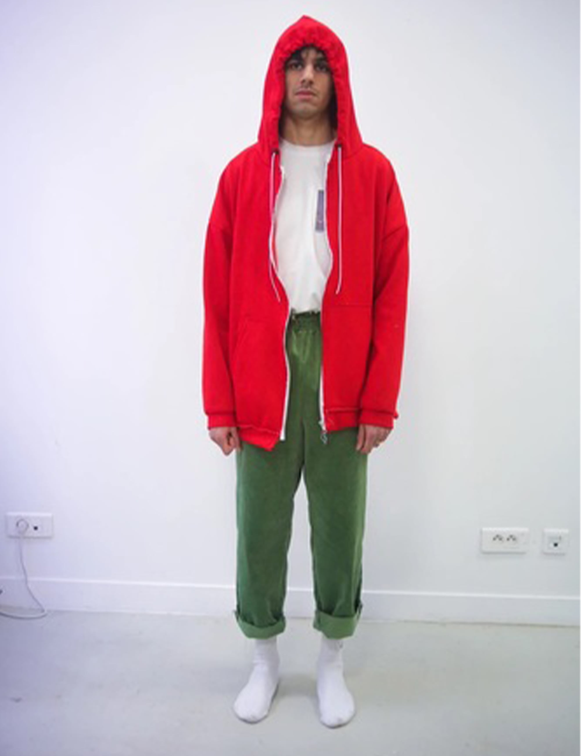 OVERSIZED HOODIE_RED