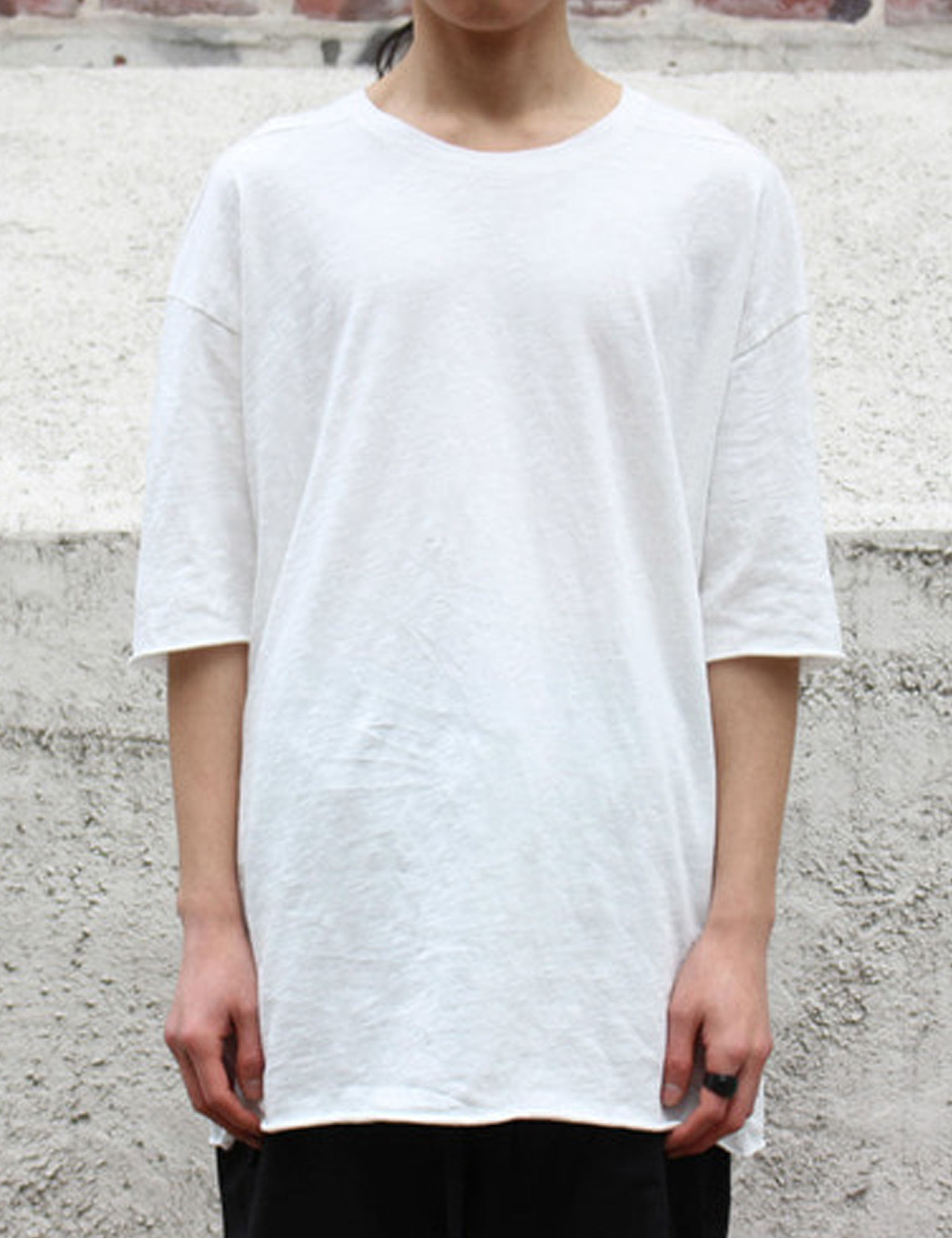 HERREN T-SHIRT_OFF WHITE