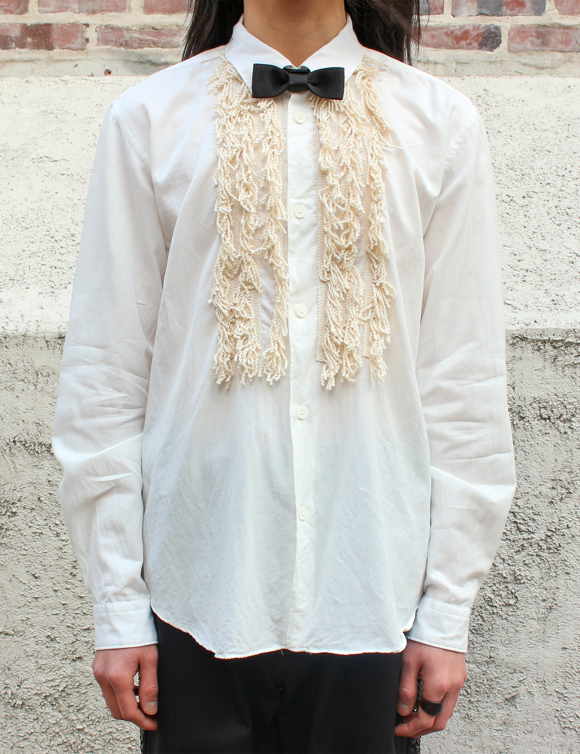 SHIRTS WITH TIE/LACE