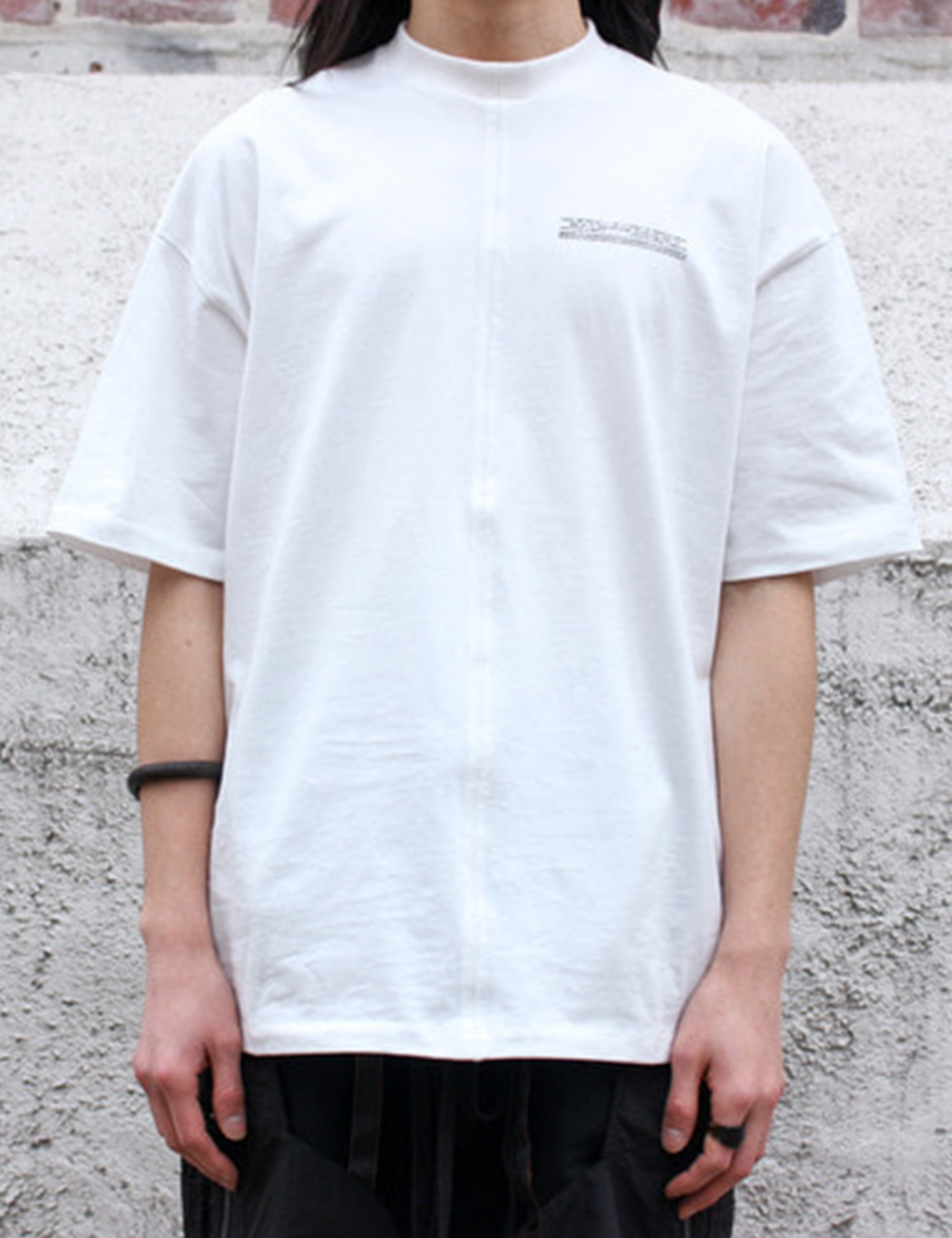 LOOSE FIT T-SHIRT_WHITE