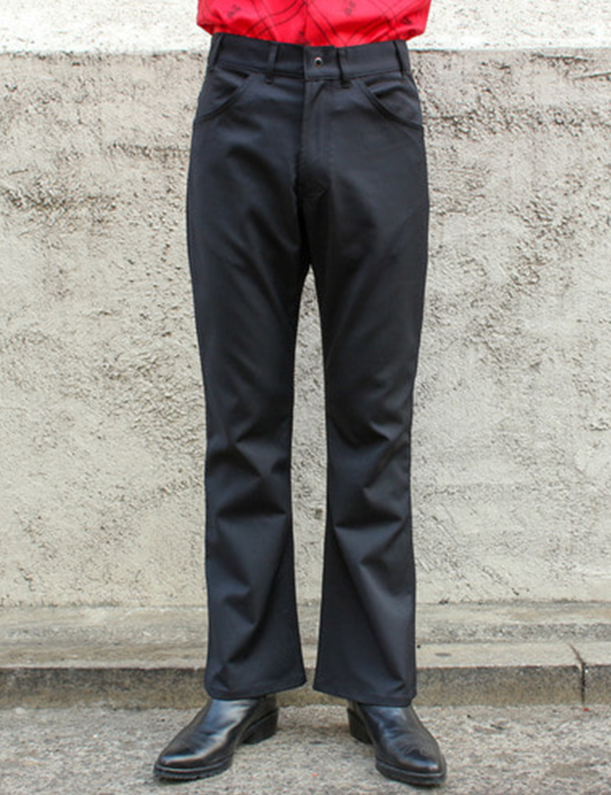 BELL BOTTOM PANTALON_BLACK
