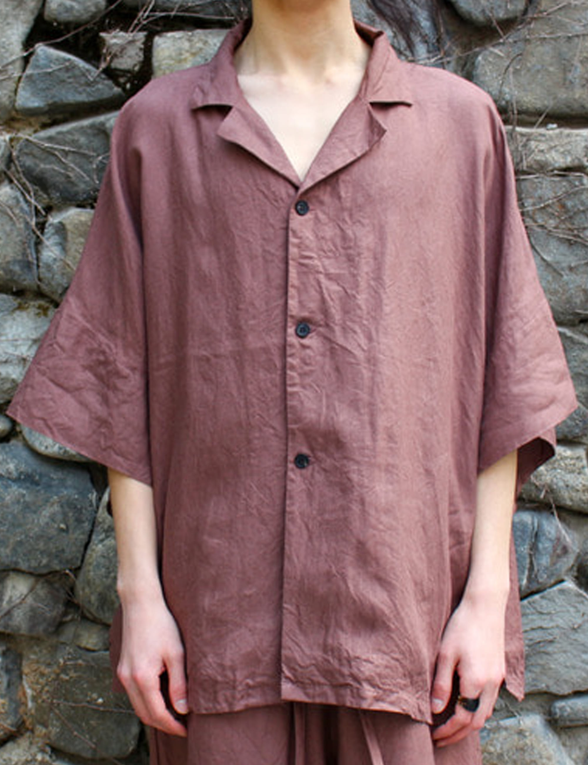 FATTY SHIRTS_ROSE BROWN
