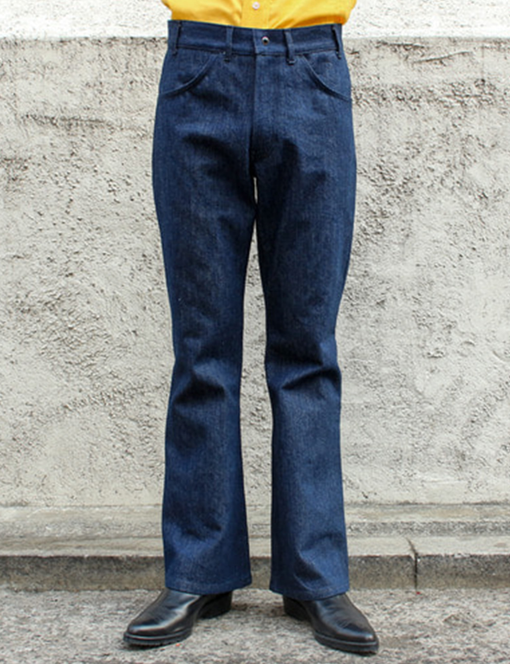 BELL BOTTOM PANTALON_DENIM