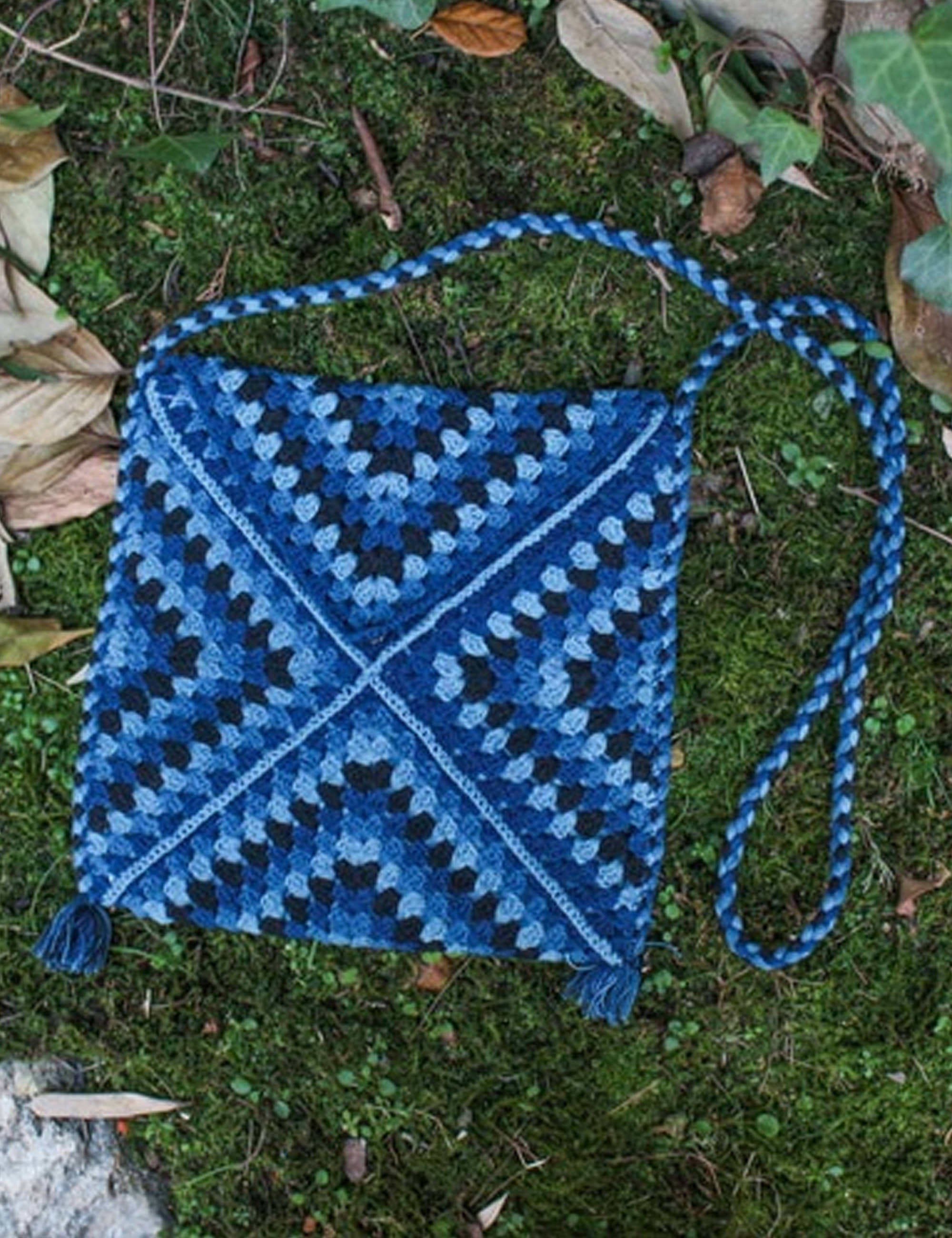 CROCHET BAG_DARK TRIP