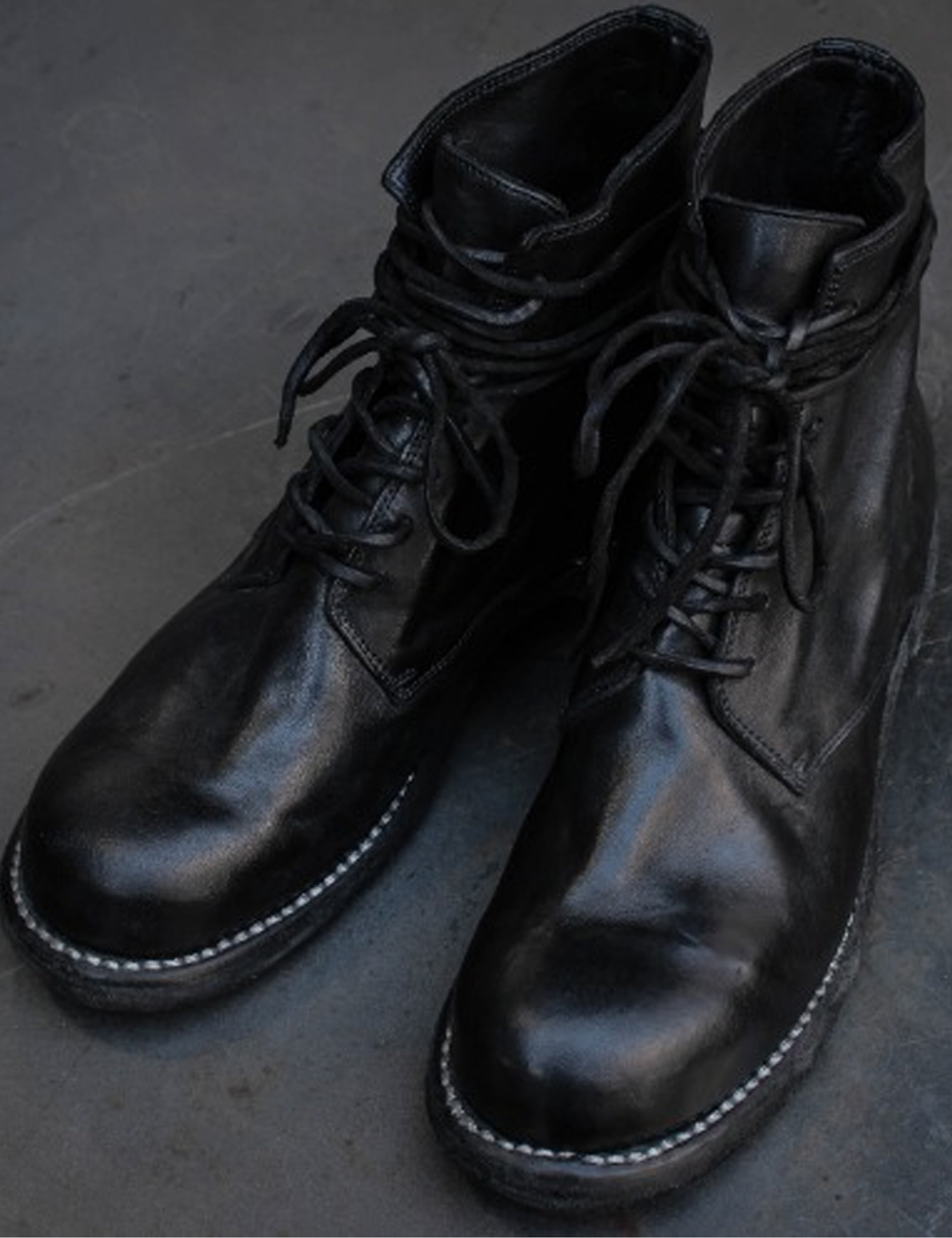 HORSE FULL GRAIN BOOTS_BLACK