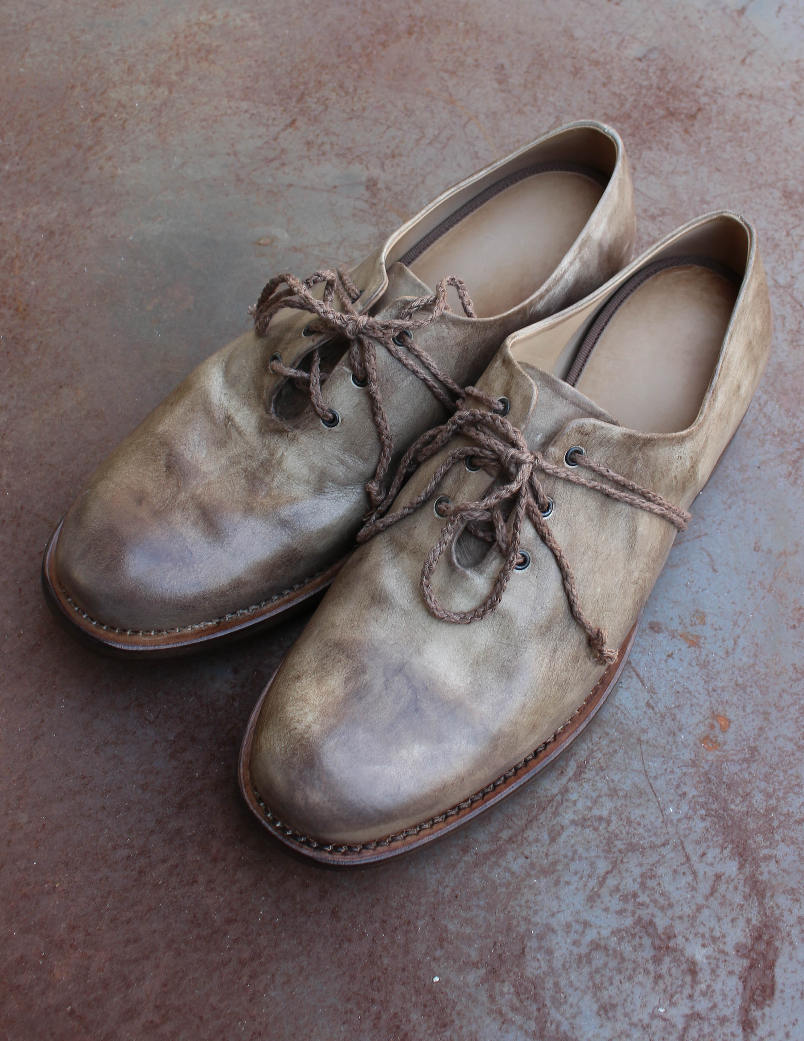 One Piece Derby_Molted Brown shoes