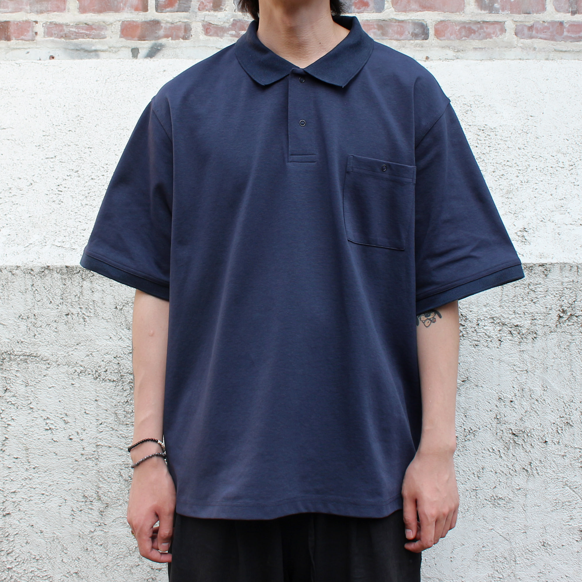 BB POLO T-SHIRTS_NAVY