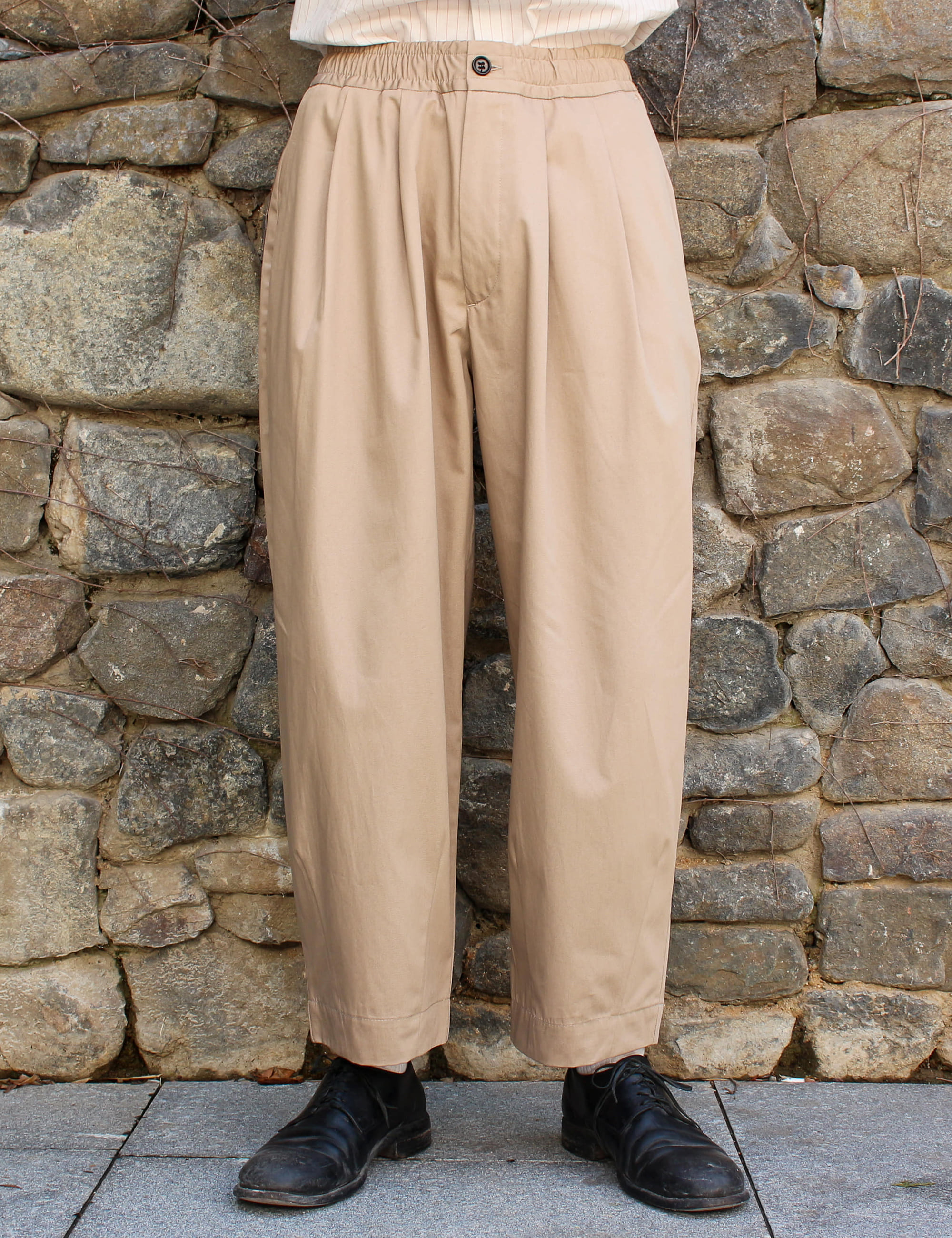 CASE TROUSERS_BEIGE