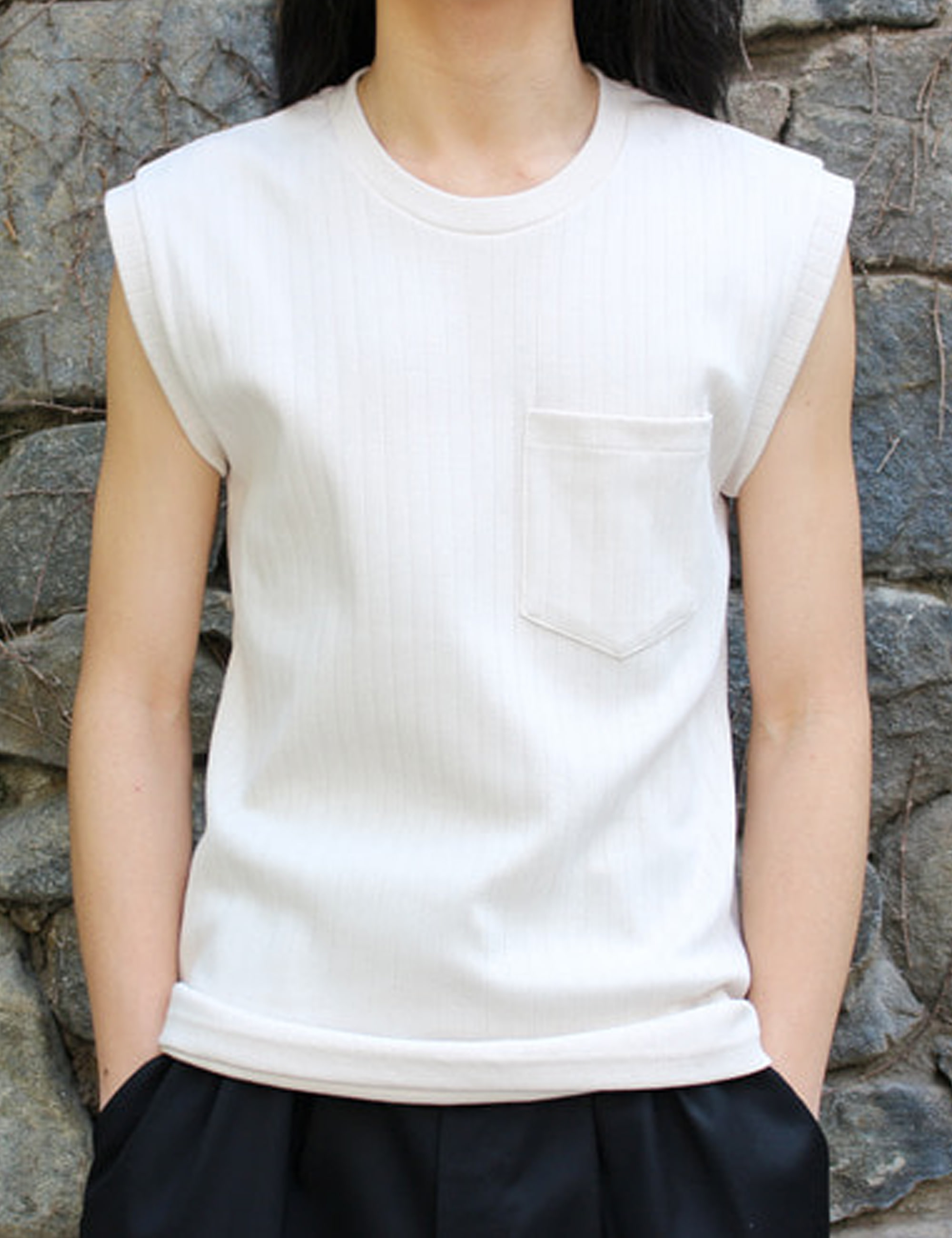 RIBBED UNDERSHIRT_WHITE