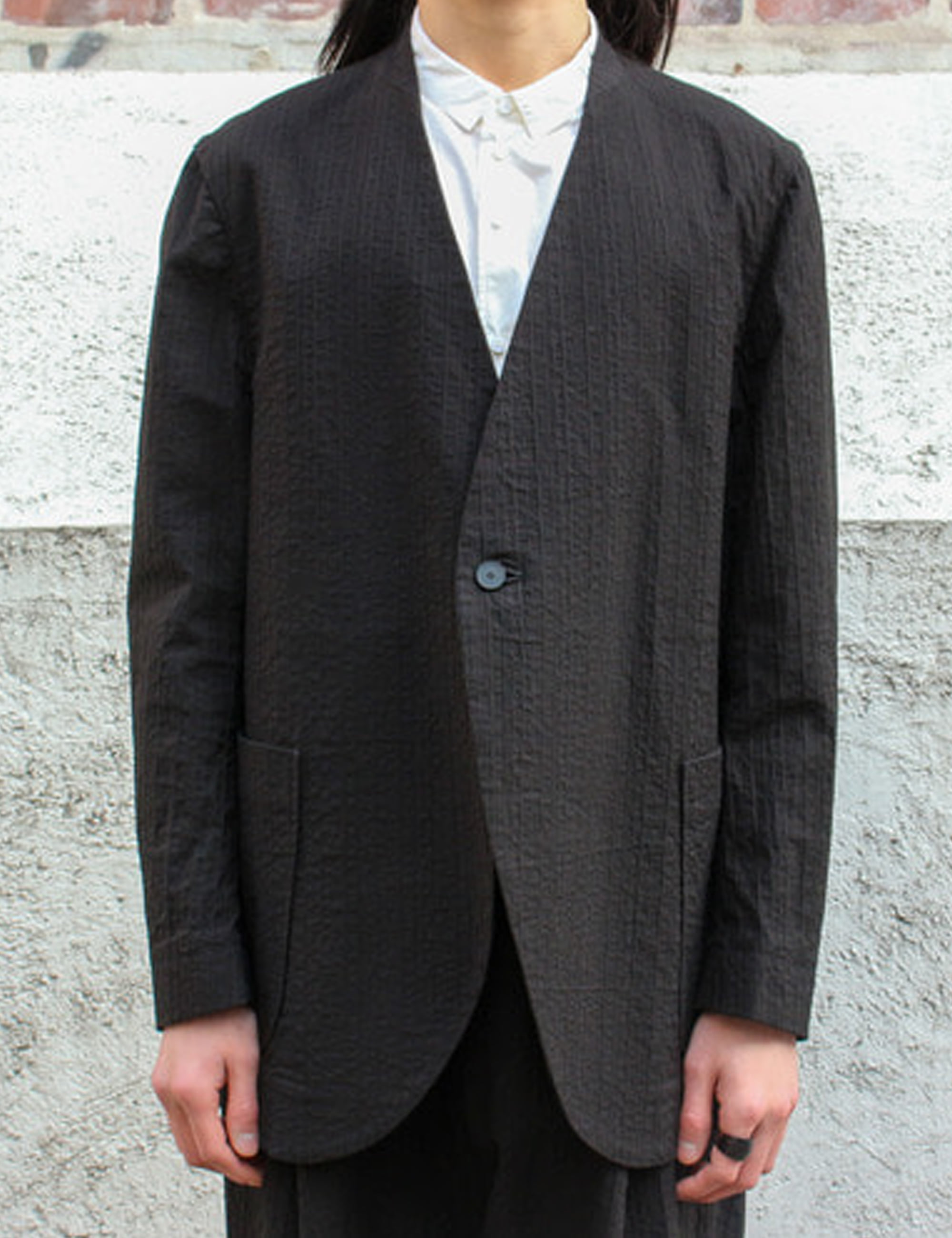 SHRINKING JACKET_BLACK