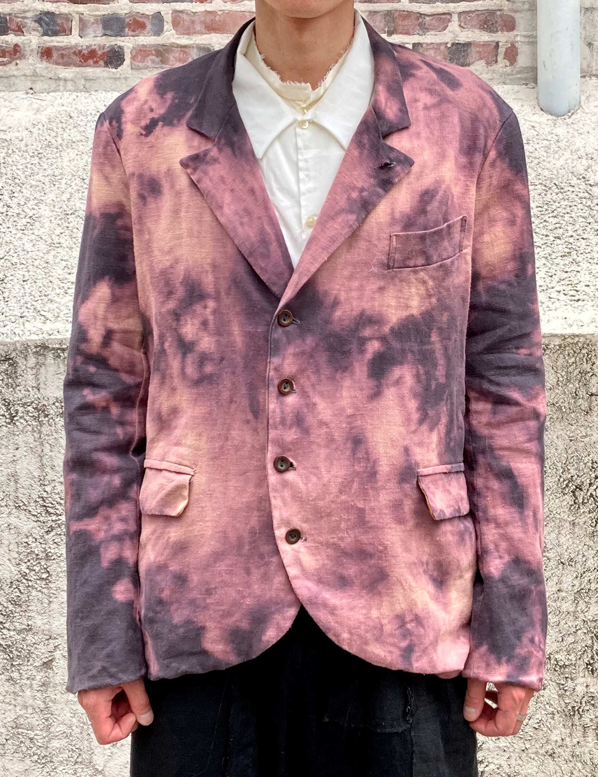 [EXCLUSIVE] BLEACHED 5 BUTTON JACKET