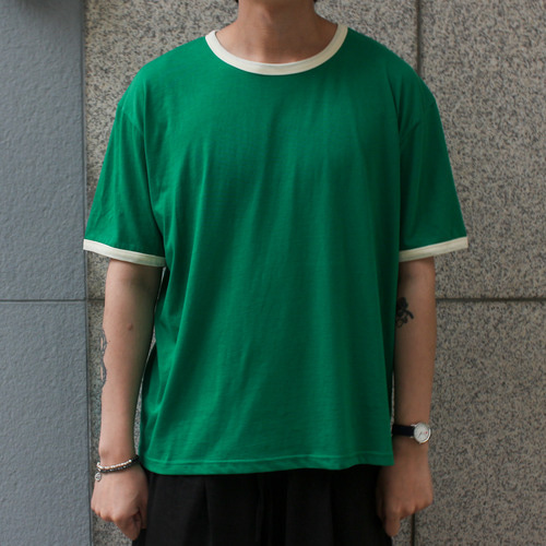 RETRO TSHIRTS_GREEN