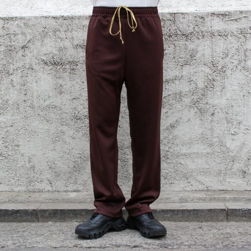 TRACK PANTS_BROWN