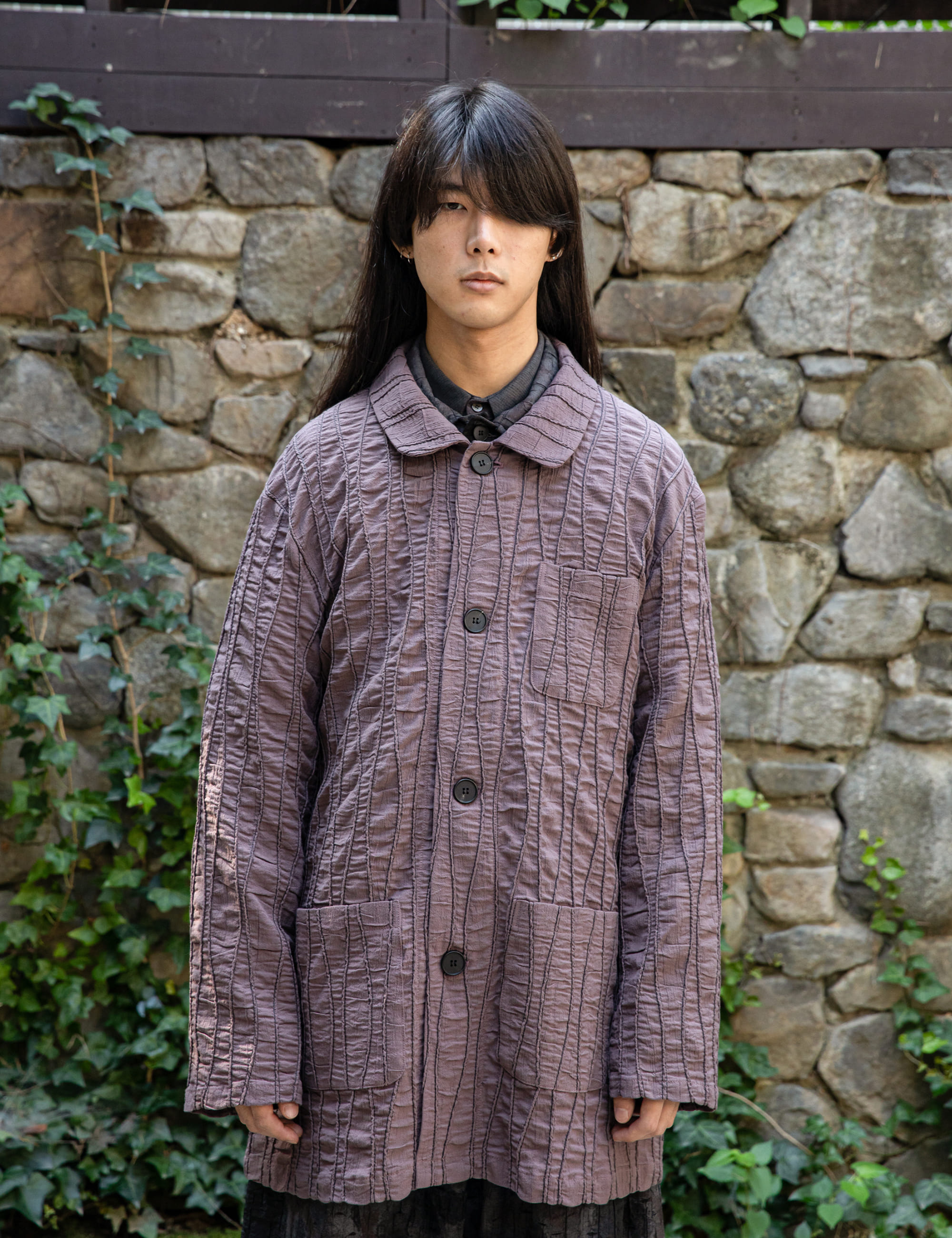 COVERALL JACKET_PURPLE