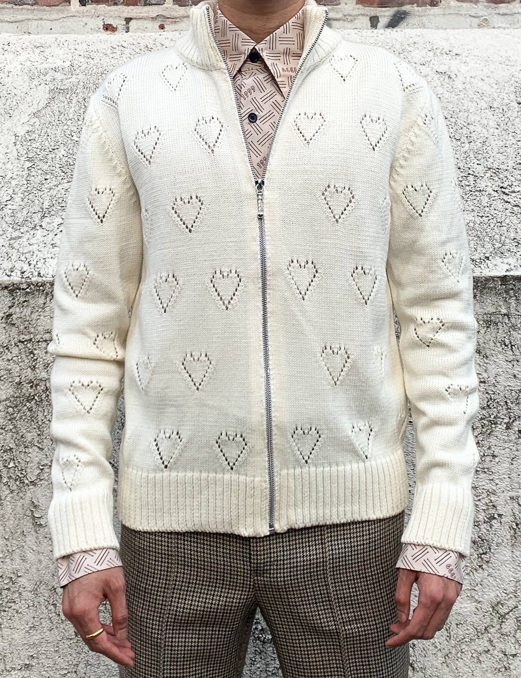 KINT TRACK TOP_WHITE HEARTS