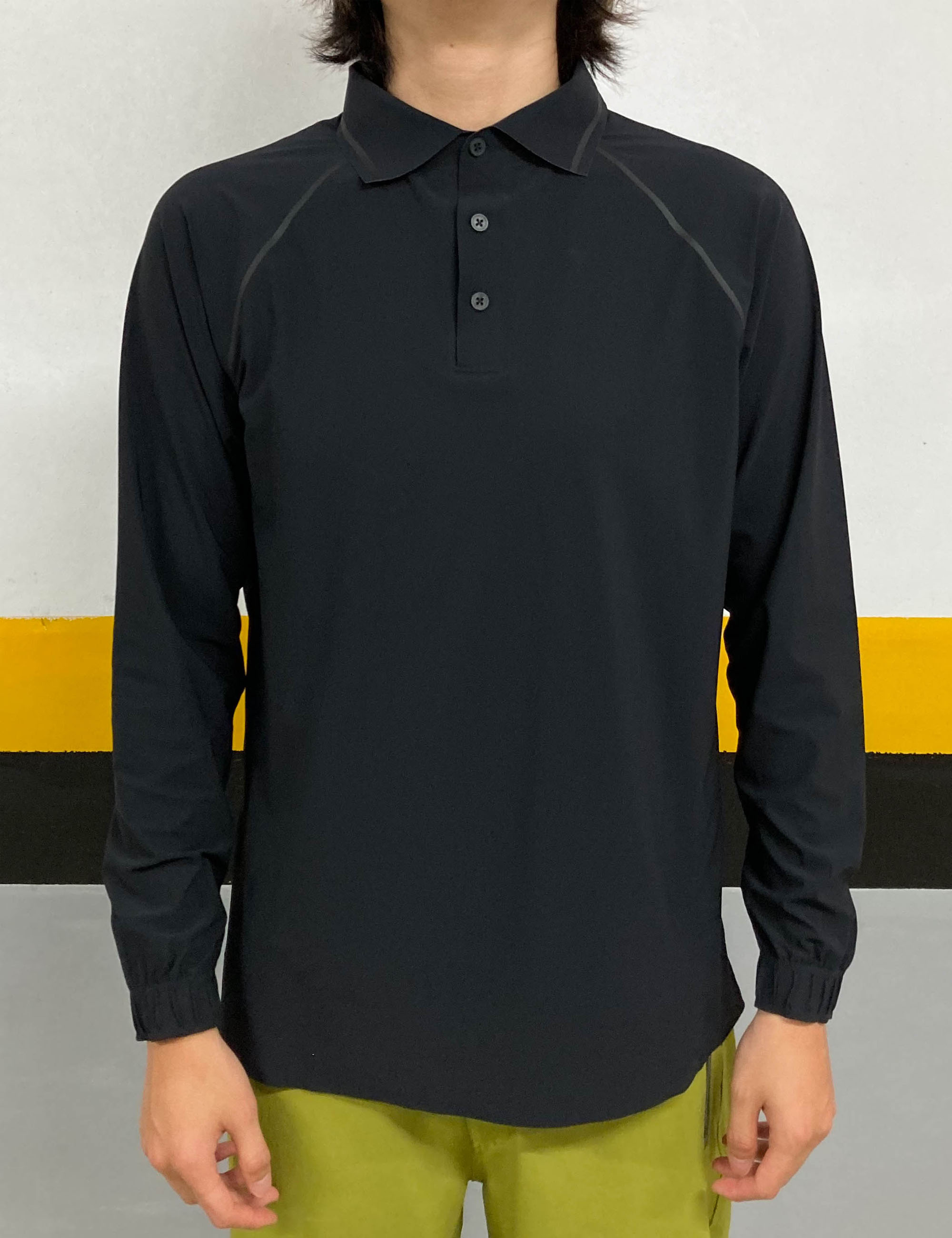 ULTRA SOUND LABOURER POLO SHIRT_BLACK
