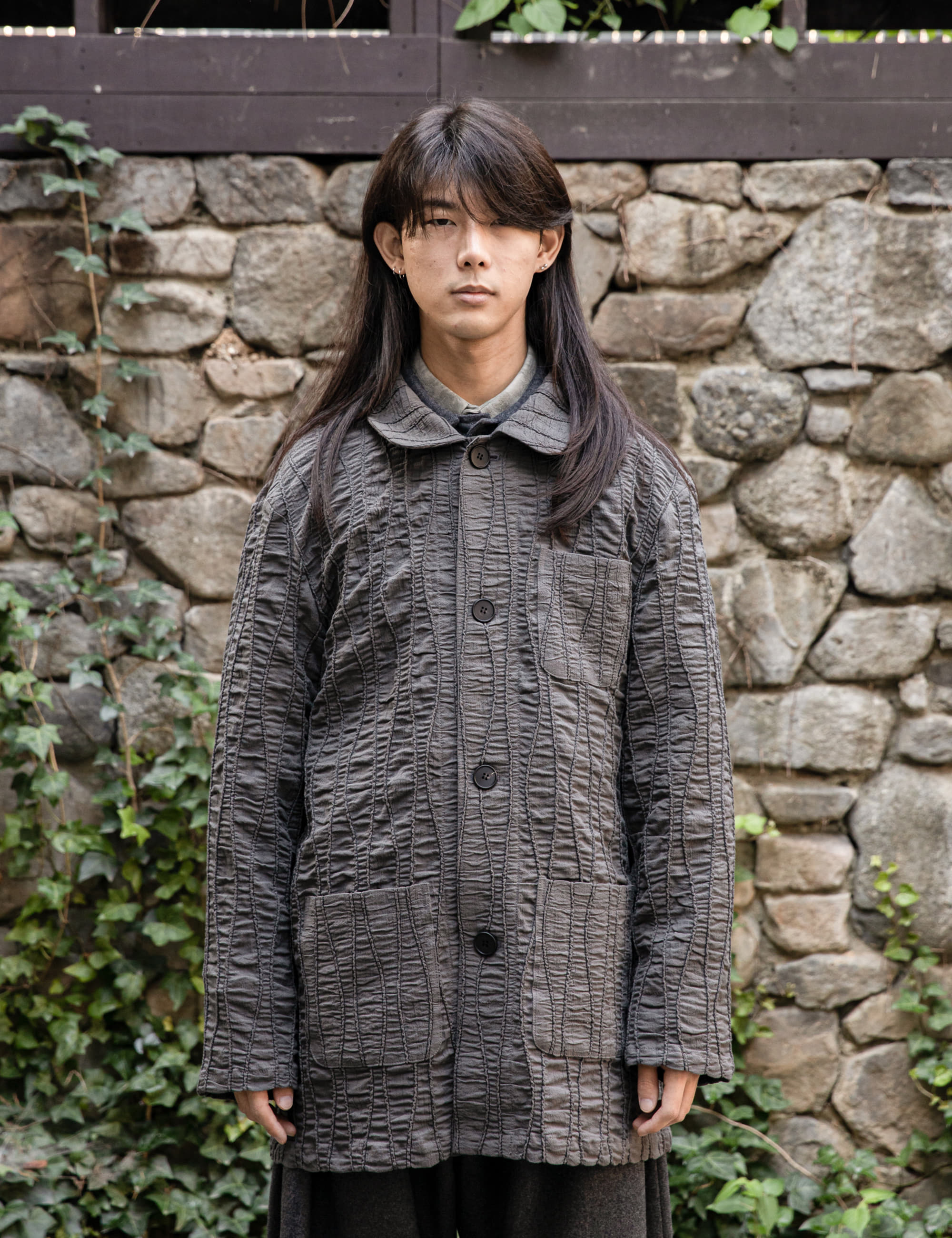 COVERALL JACKET_CHARCOAL