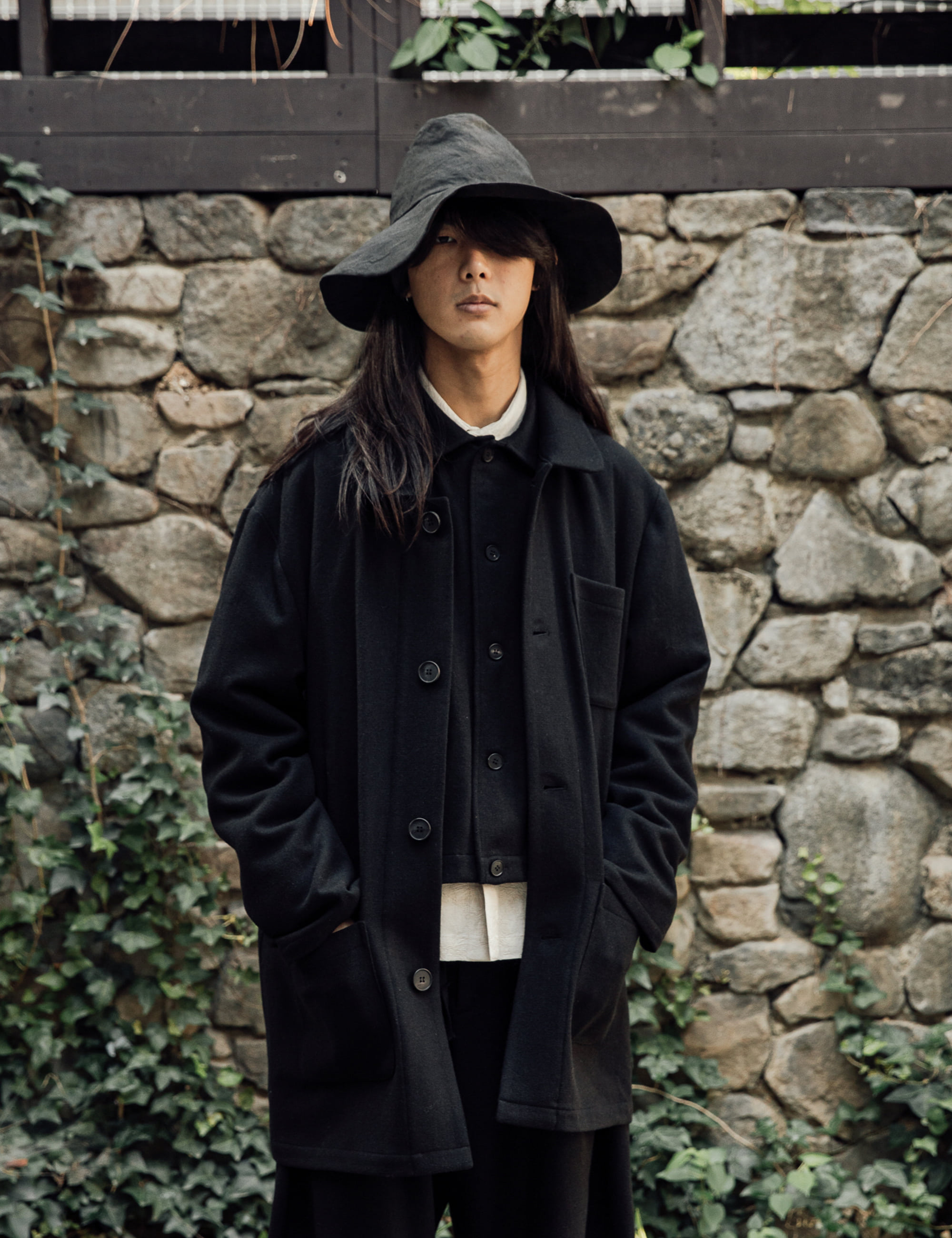 COVERALL JACKET_BLACK