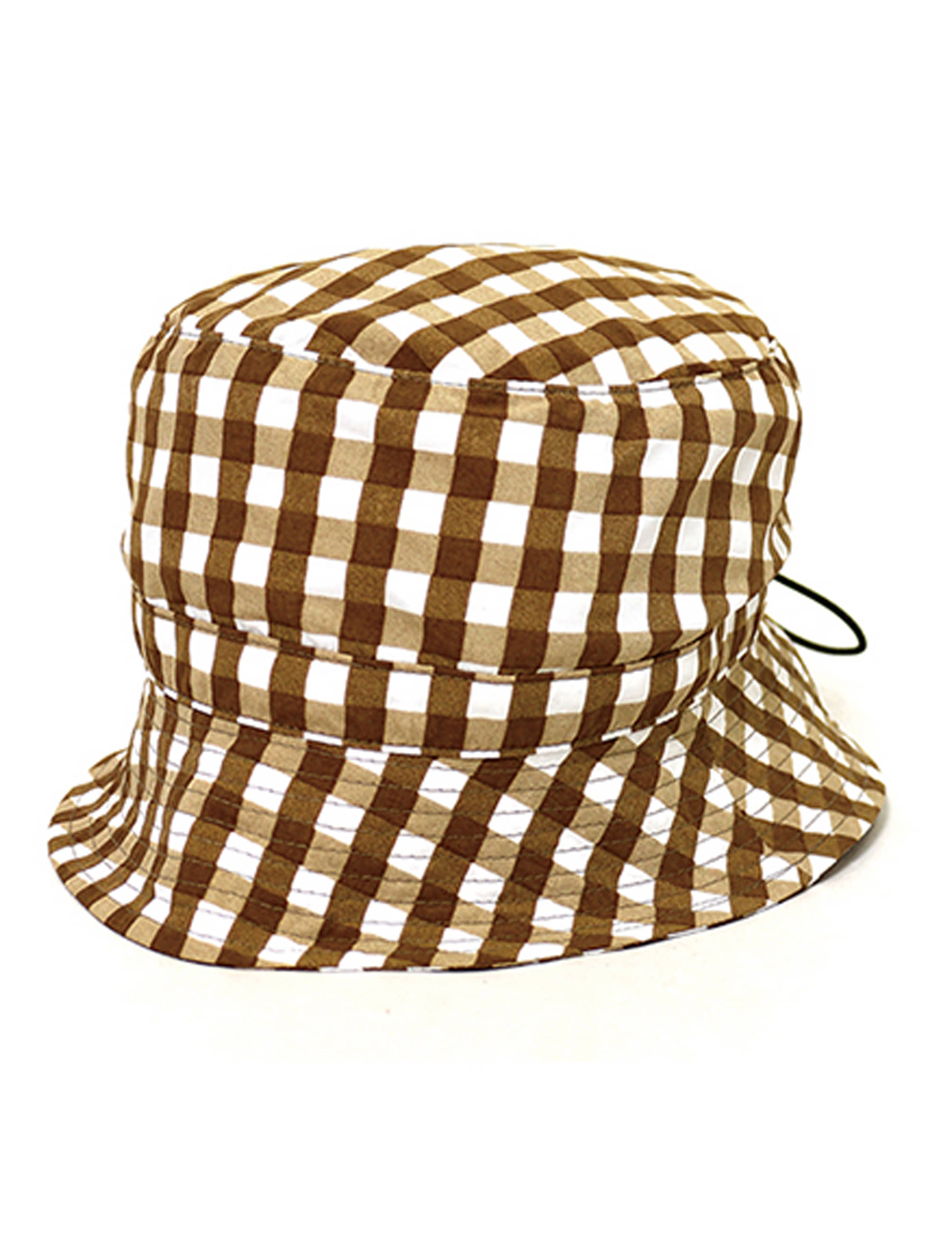 BUCKET HAT_GAINGHAM