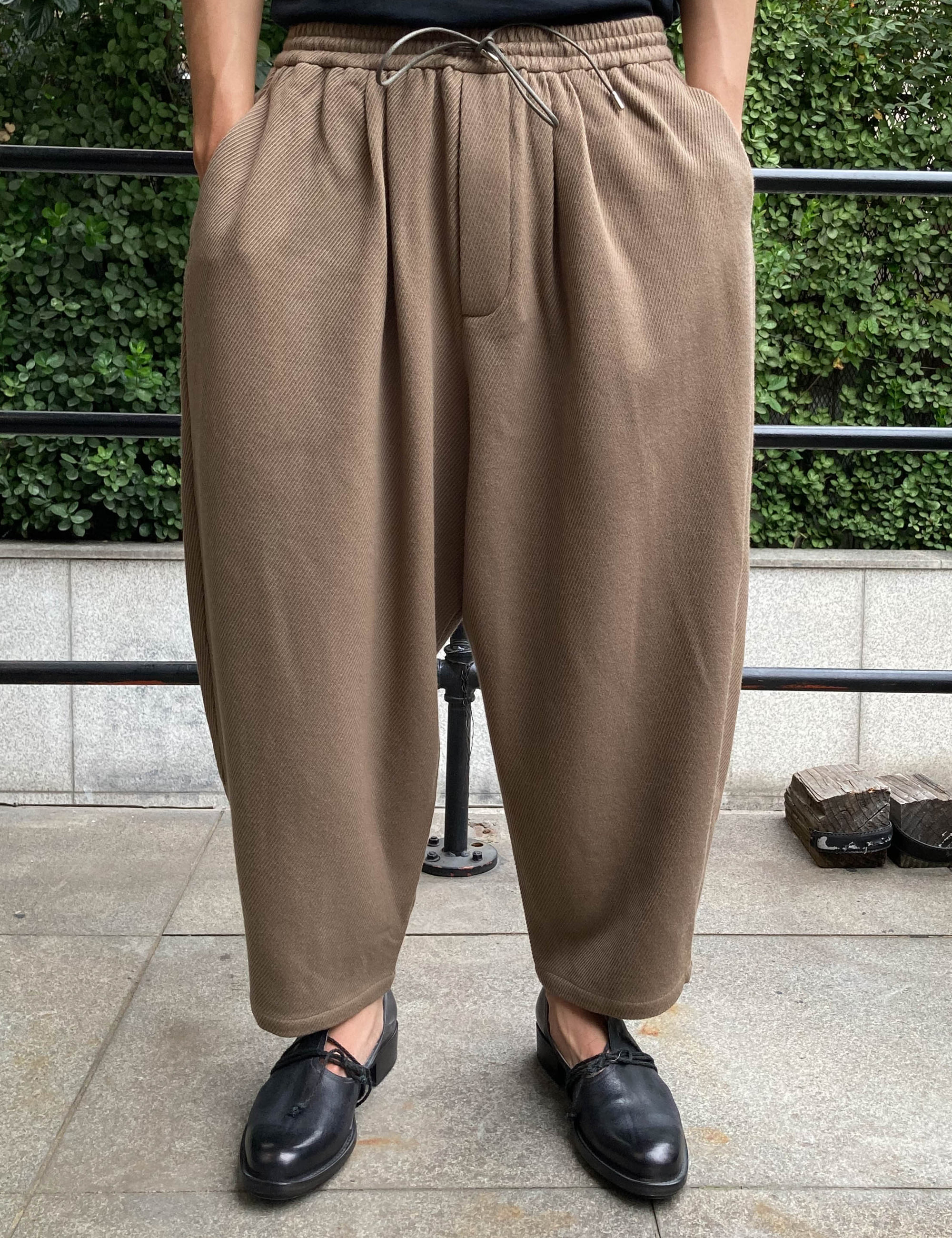RELAXED TROUSERS_SAND