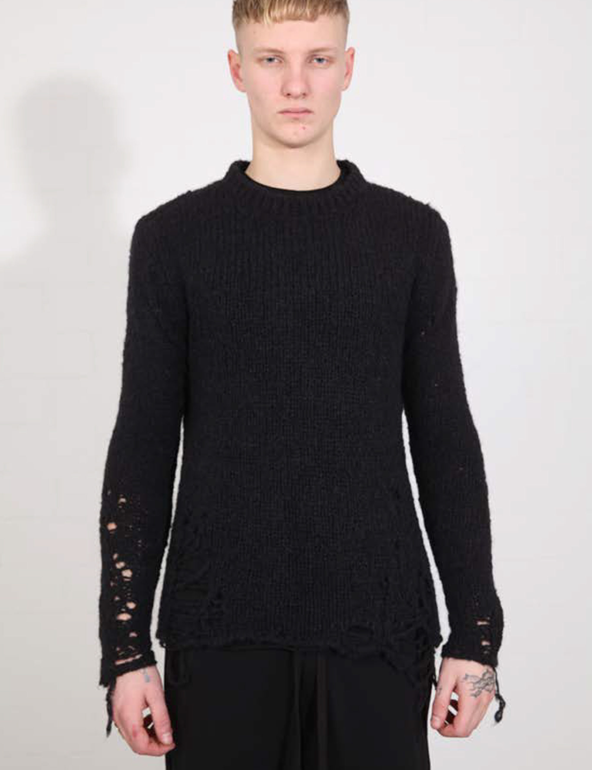 MEN PULLOVER KNIT M K 89-0-1_BLACK
