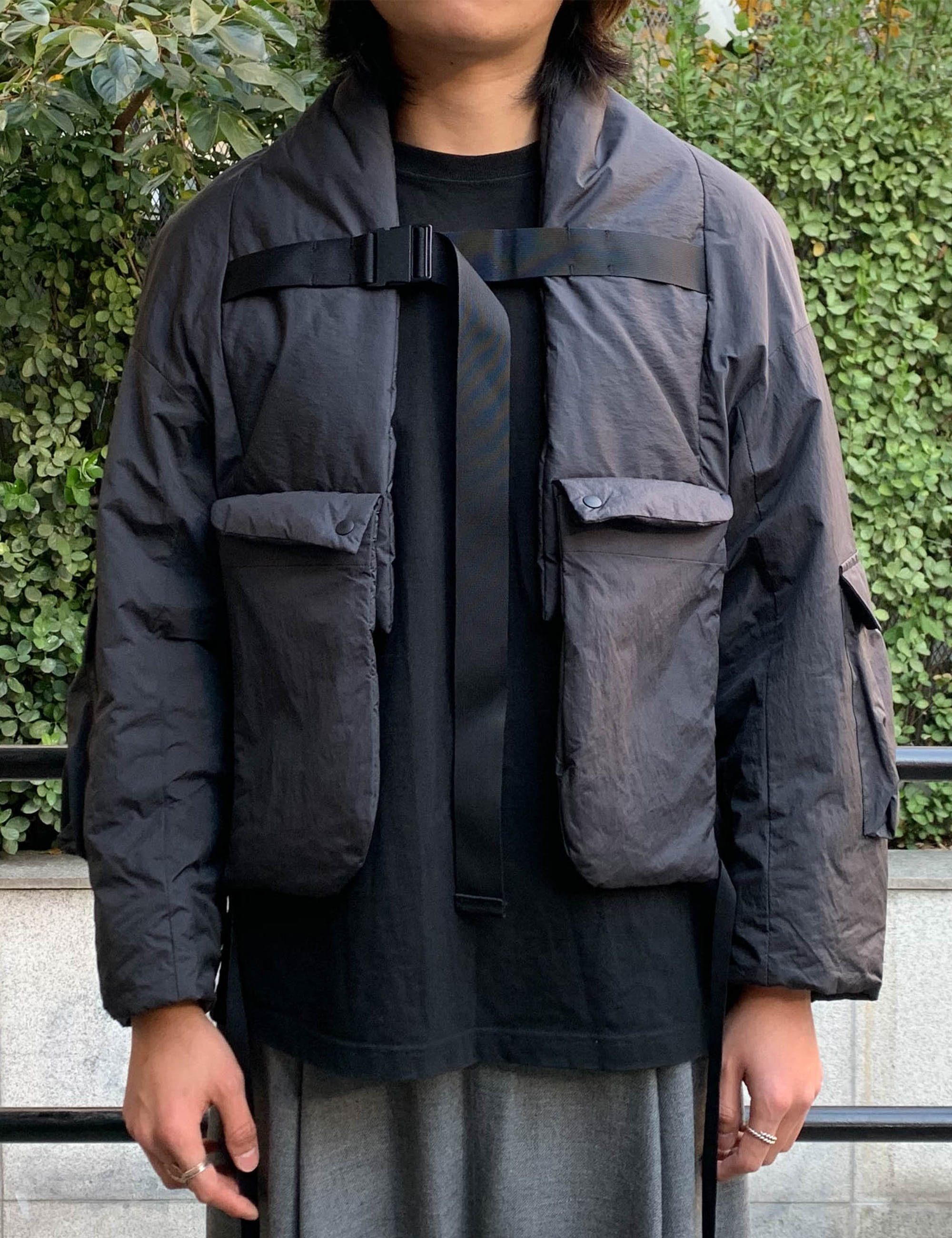 MODERN ARMED HAORI_BLACK