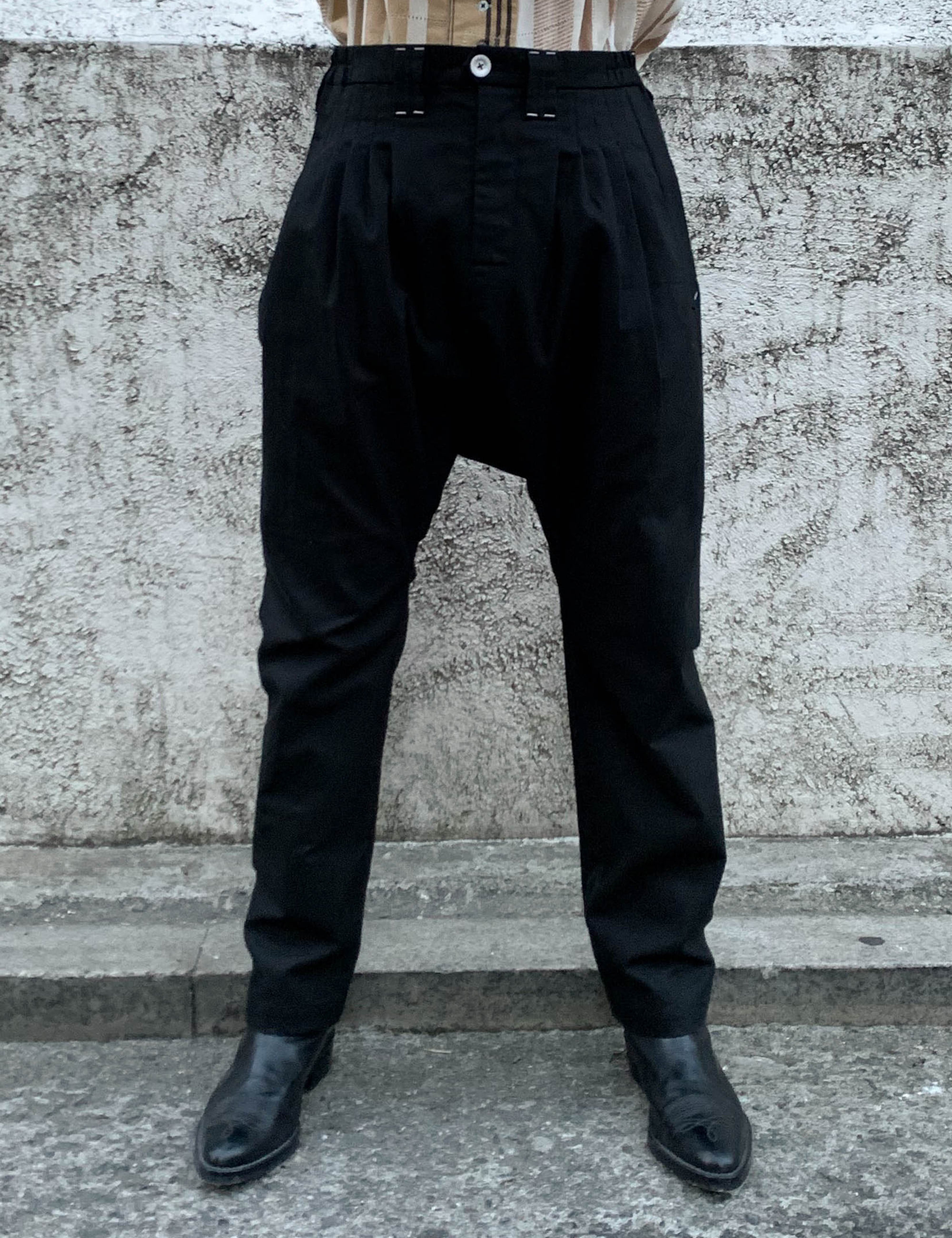 NOMAD SARUEL TAPERED PANTS_BLACK