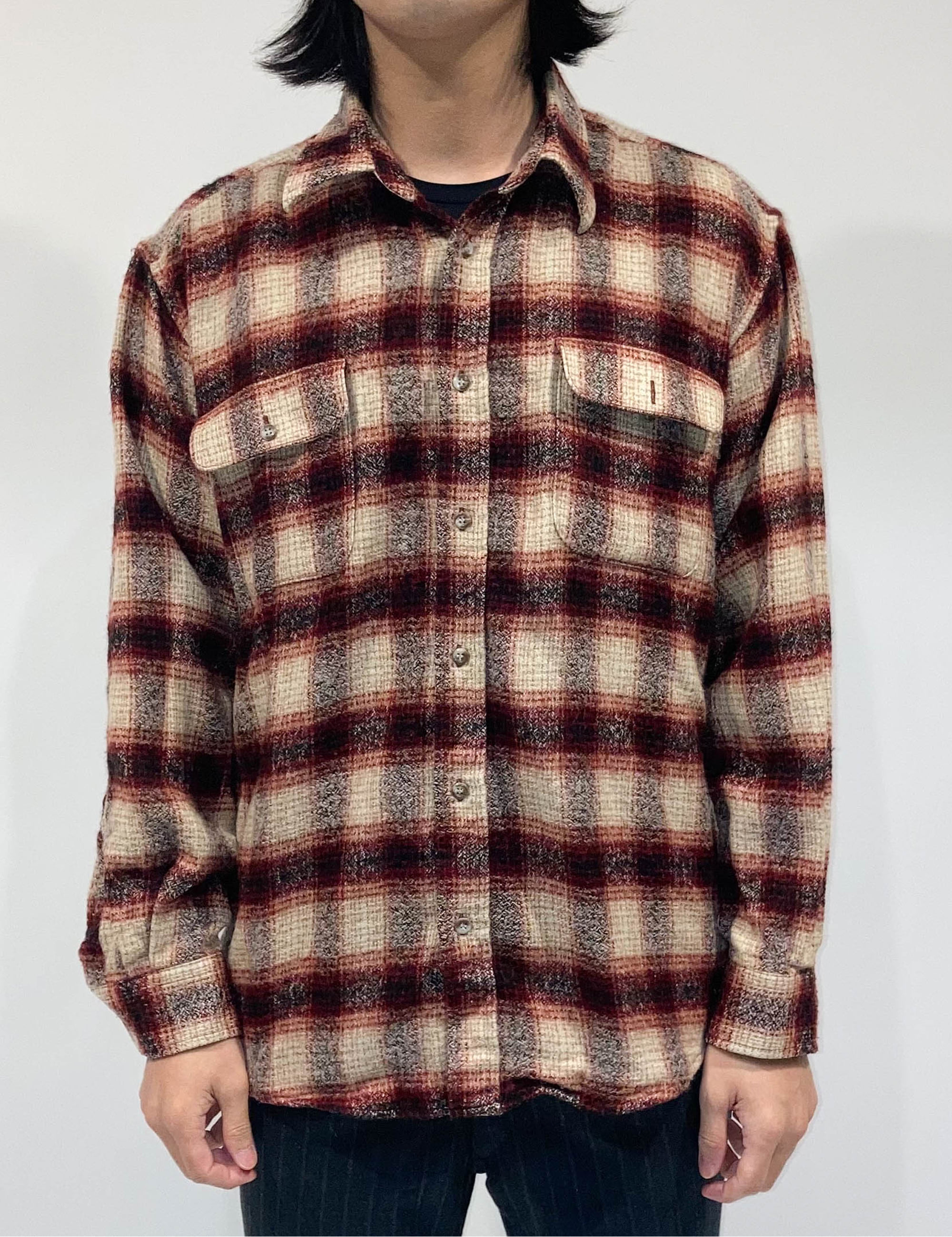 VINTAGE RED CHECK SHIRT