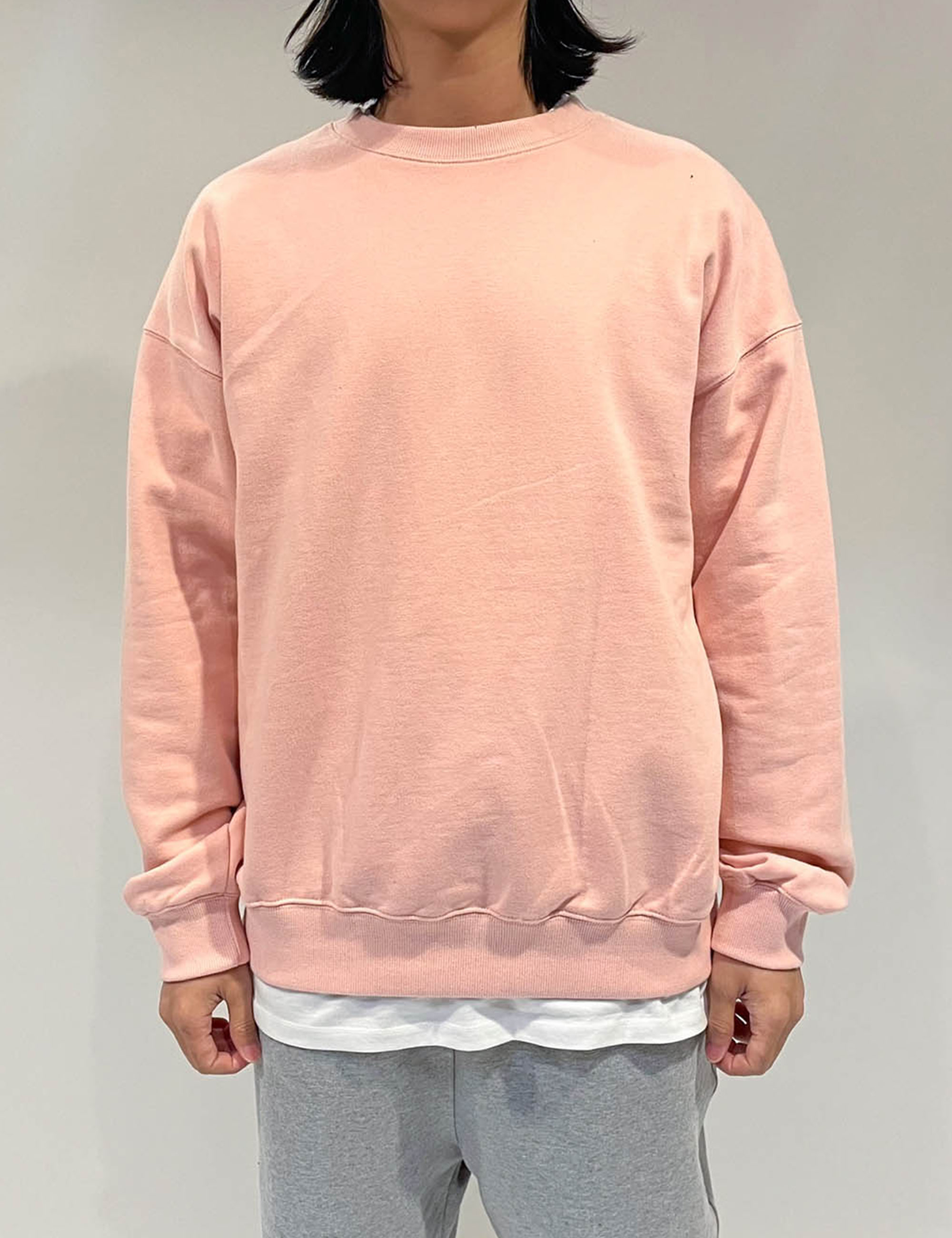 STANDARD SWEAT SHIRT _PINK