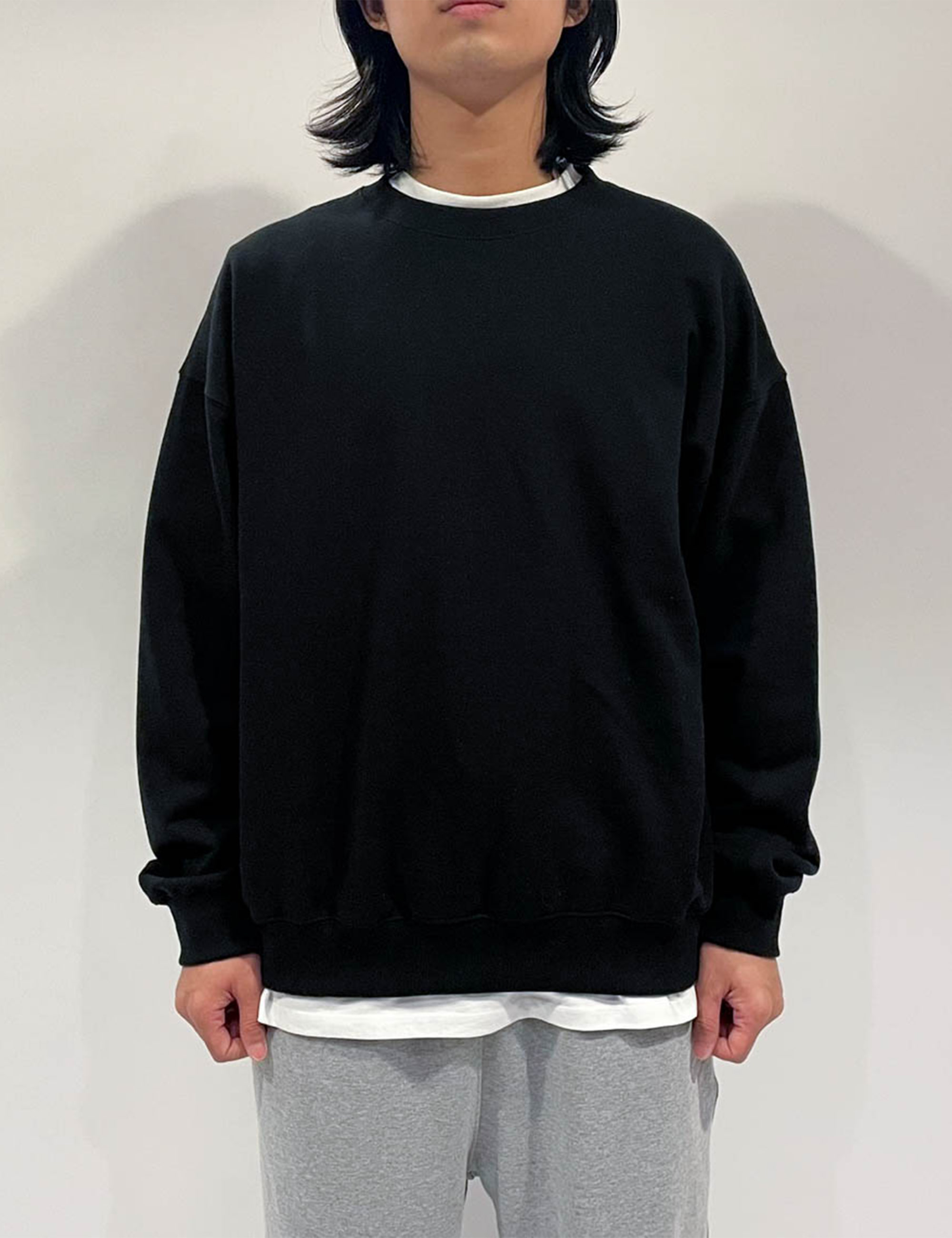 STANDARD SWEAT SHIRT _BLACK