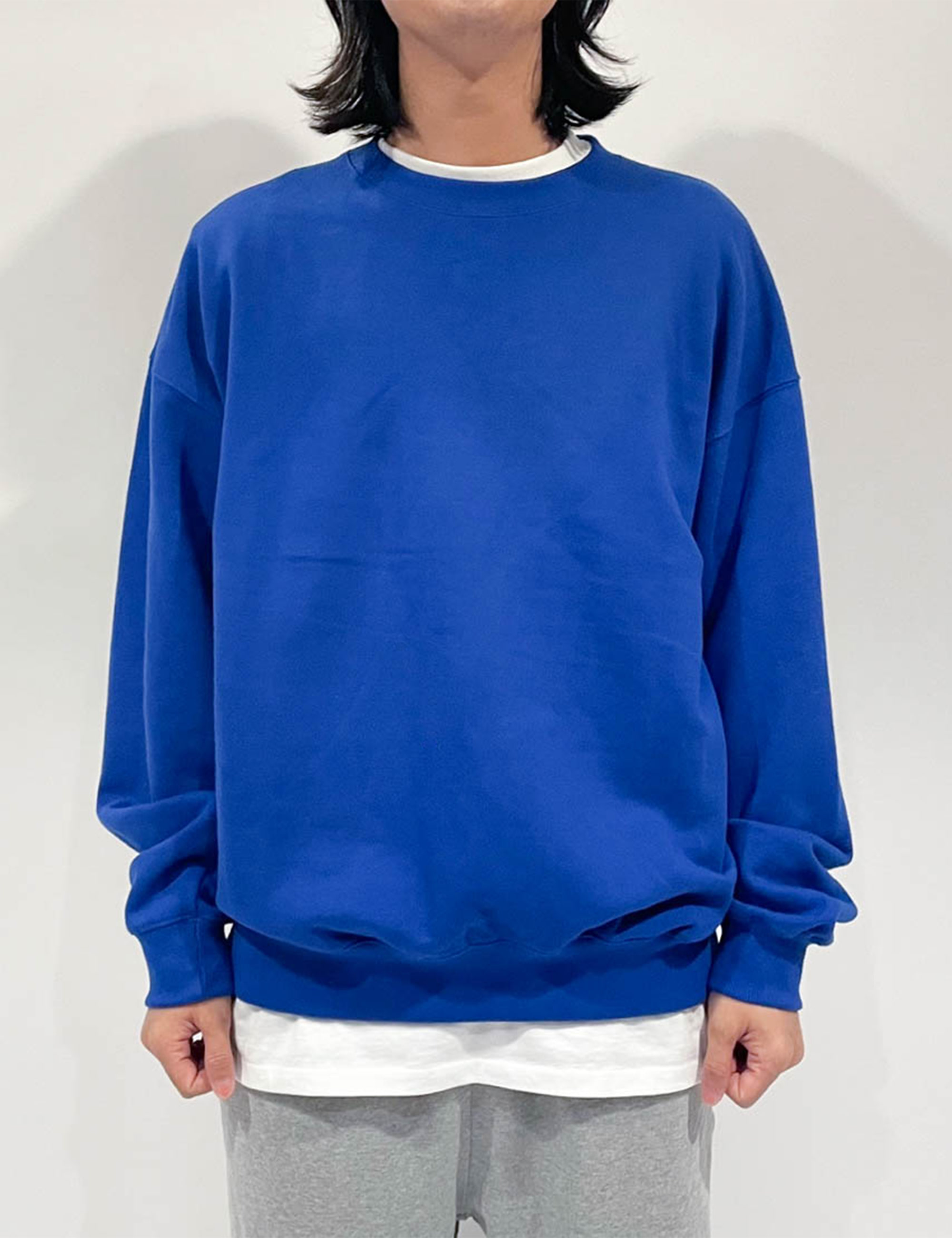 STANDARD SWEAT SHIRT _BLUE