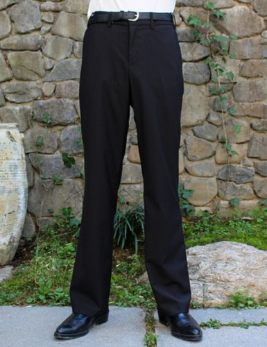 CLASSIC TAILORED SUIT PANTS_BLACK