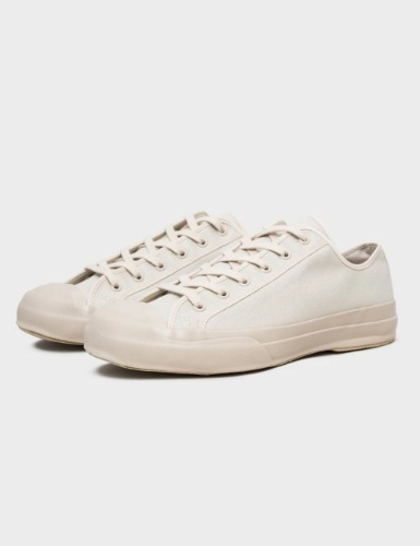 MERINO VULCANISED SOLE CANVAS SHOE IN DOVE