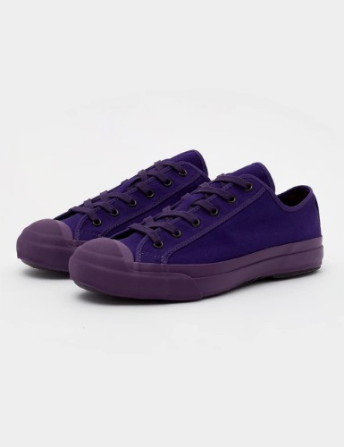 MERINO VULCANISED SOLE CANVAS SHOE IN ULTRA VIOLET