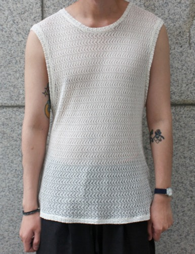 LIMITED SLEEVELESS_IVORY