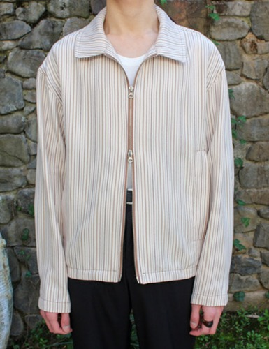 ZIP JACKET_STRIPE