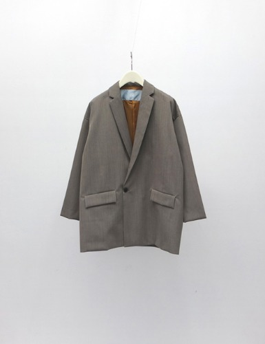 YOSOIKI DOUBLE JACKET_GRAY BEIGE