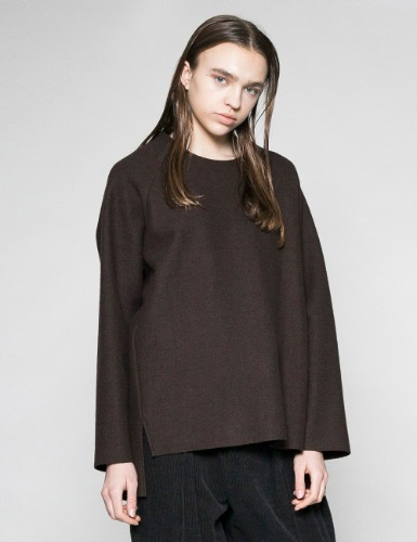 WOOL CREW_BROWN