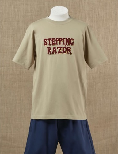 STEPPING RAZOR T-SHIRT_KHAKI