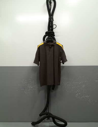 TAPPED_SS_ULTRASOUND_POLOSHIRT_BARK BROWN